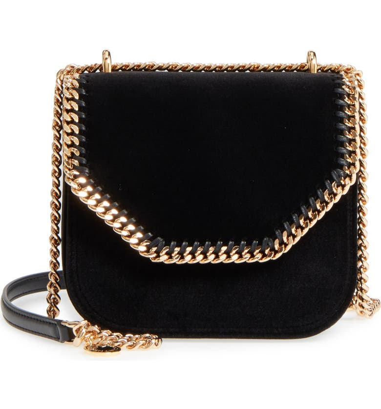 Stella McCartney Mini Falabella Box Velvet Shoulder Bag  5e02e51abf919