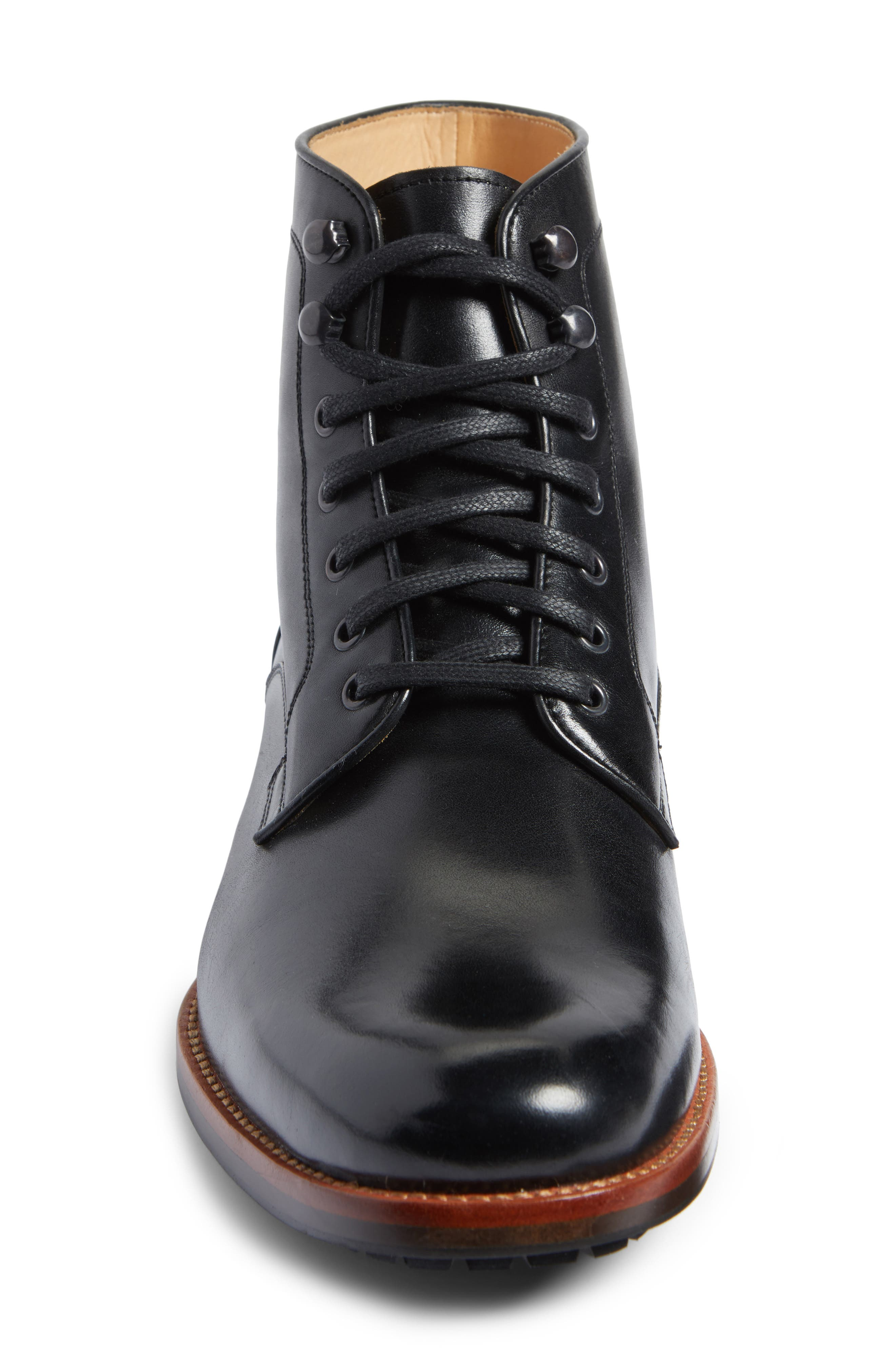 Axeford Plain Toe Boot,                             Alternate thumbnail 4, color,                             001