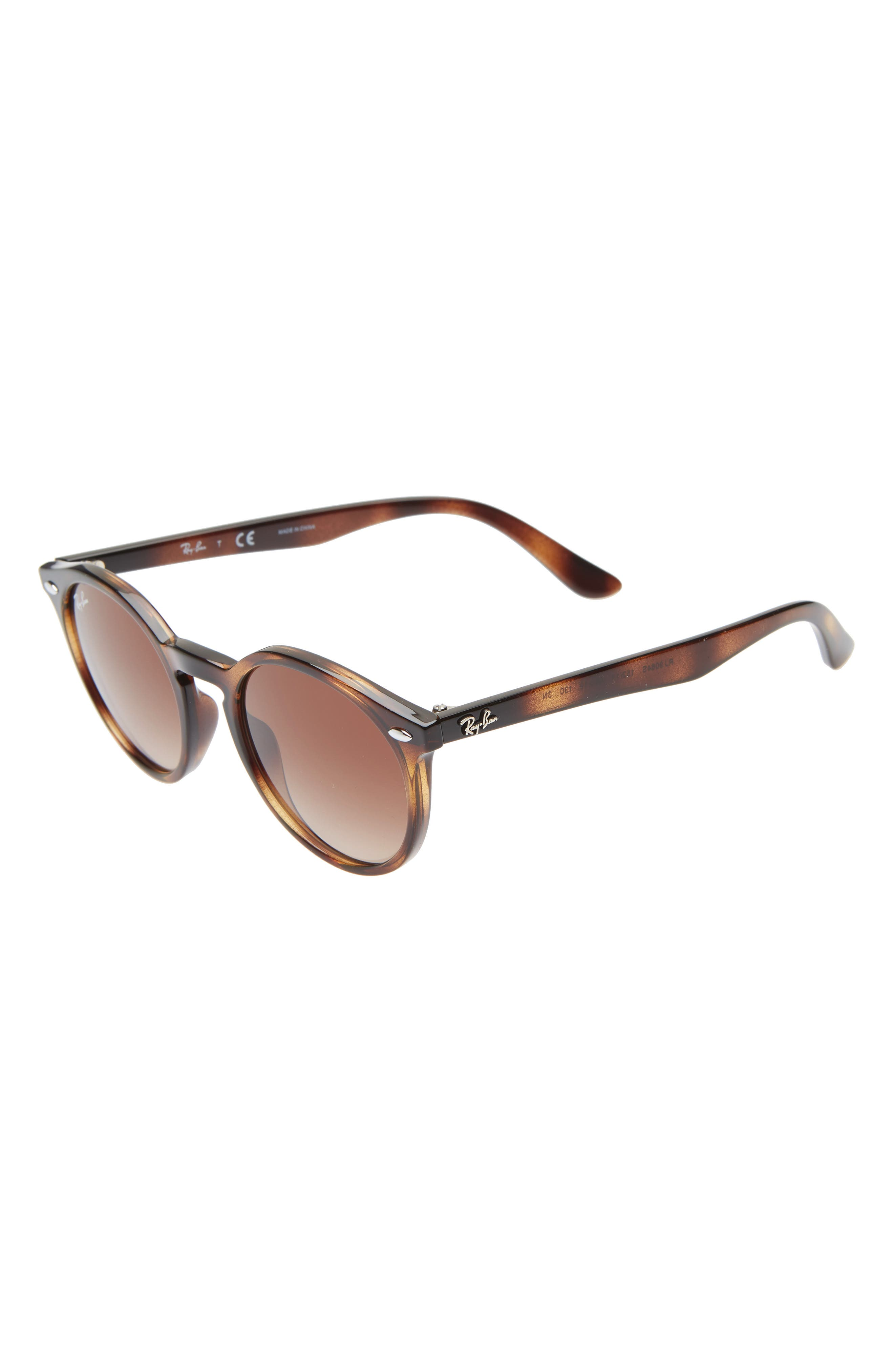 Ray-Ban Junior 4m Round Sunglasses - Shiny Havana/ Brown Gradient