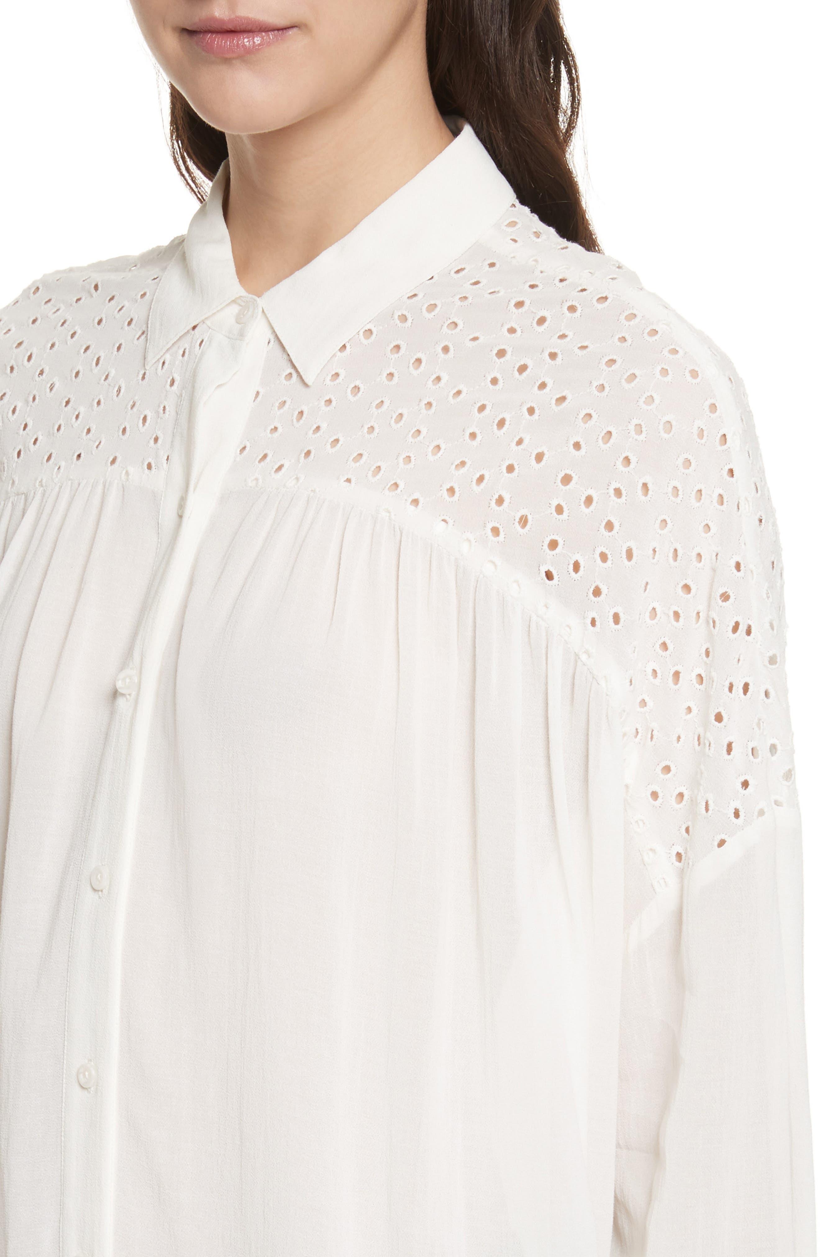Pearla Shirt,                             Alternate thumbnail 8, color,