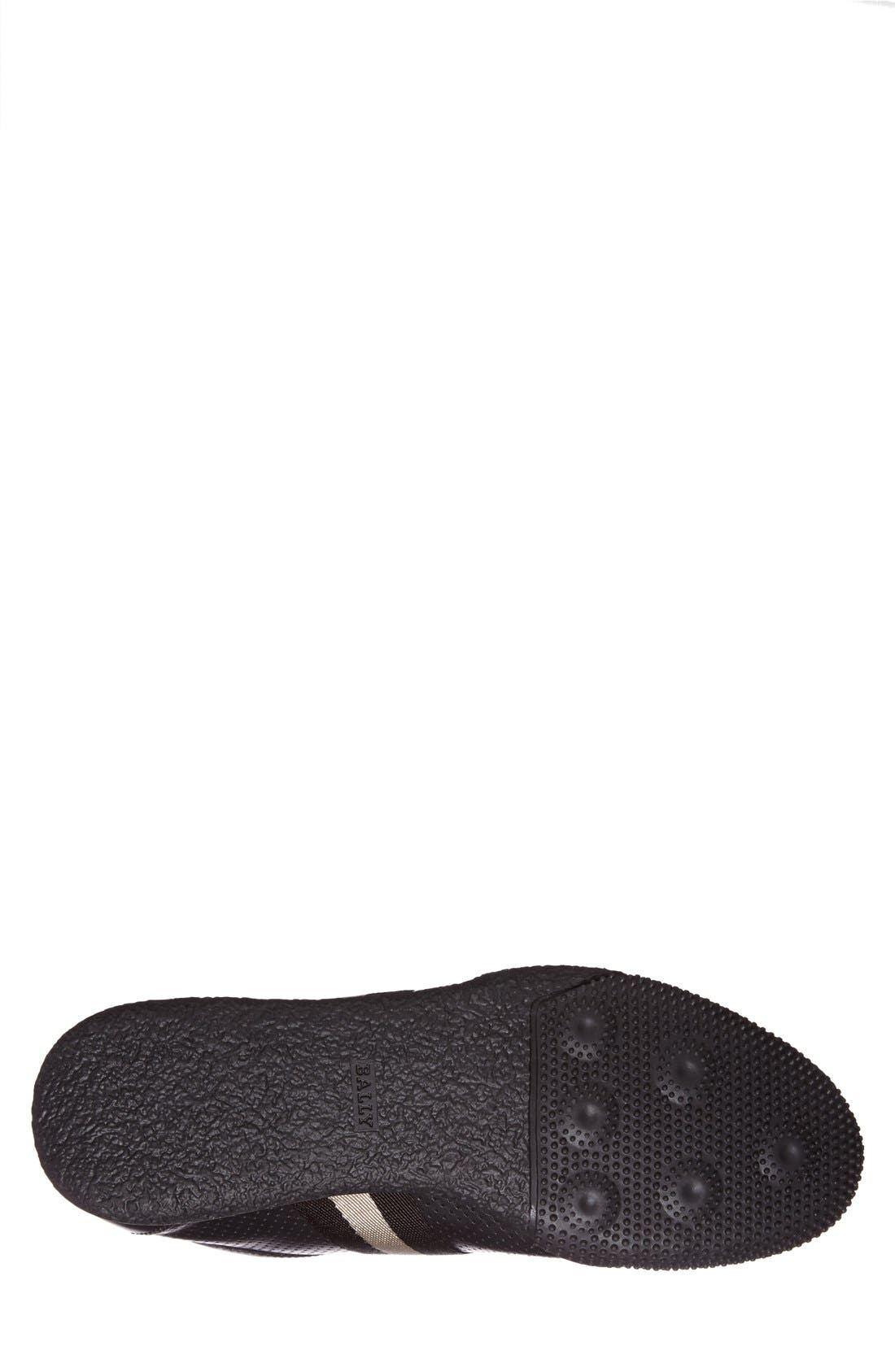 'Frenz' Perforated Sneaker,                             Alternate thumbnail 2, color,                             001