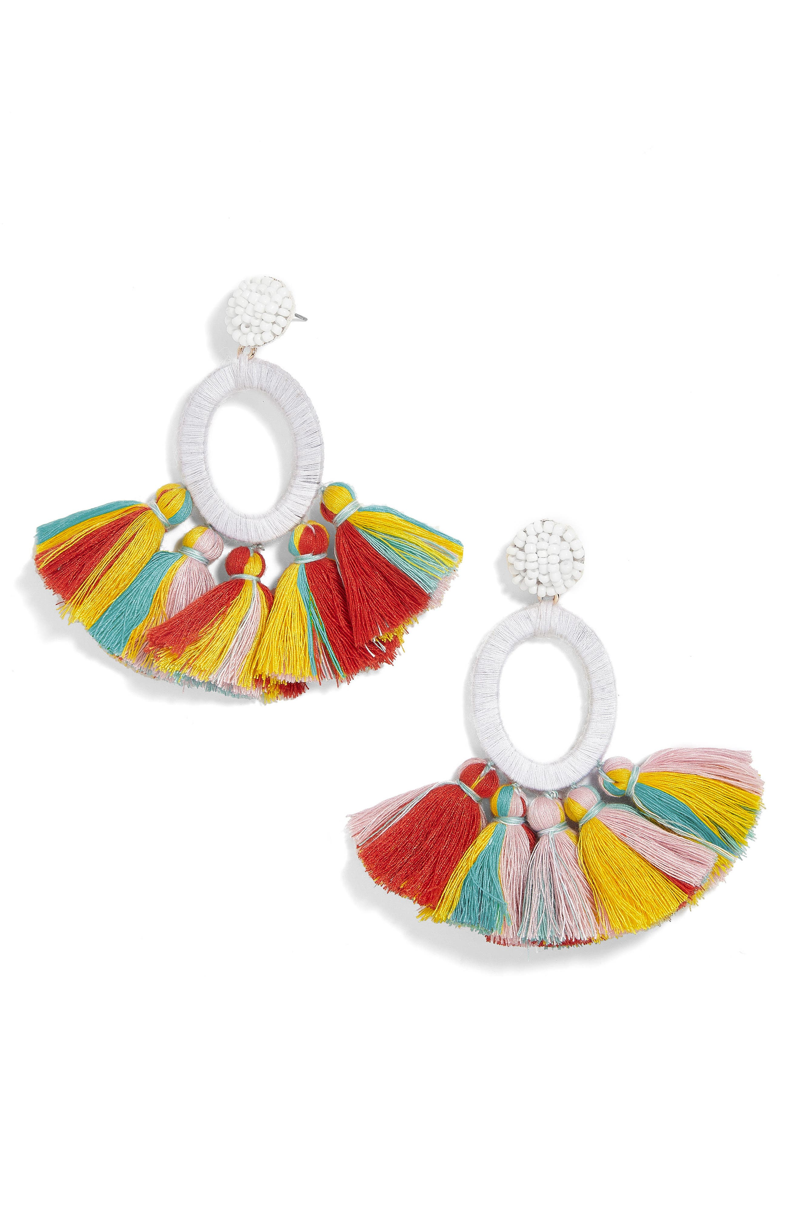 Abacos Tassel Earrings,                         Main,                         color, 159