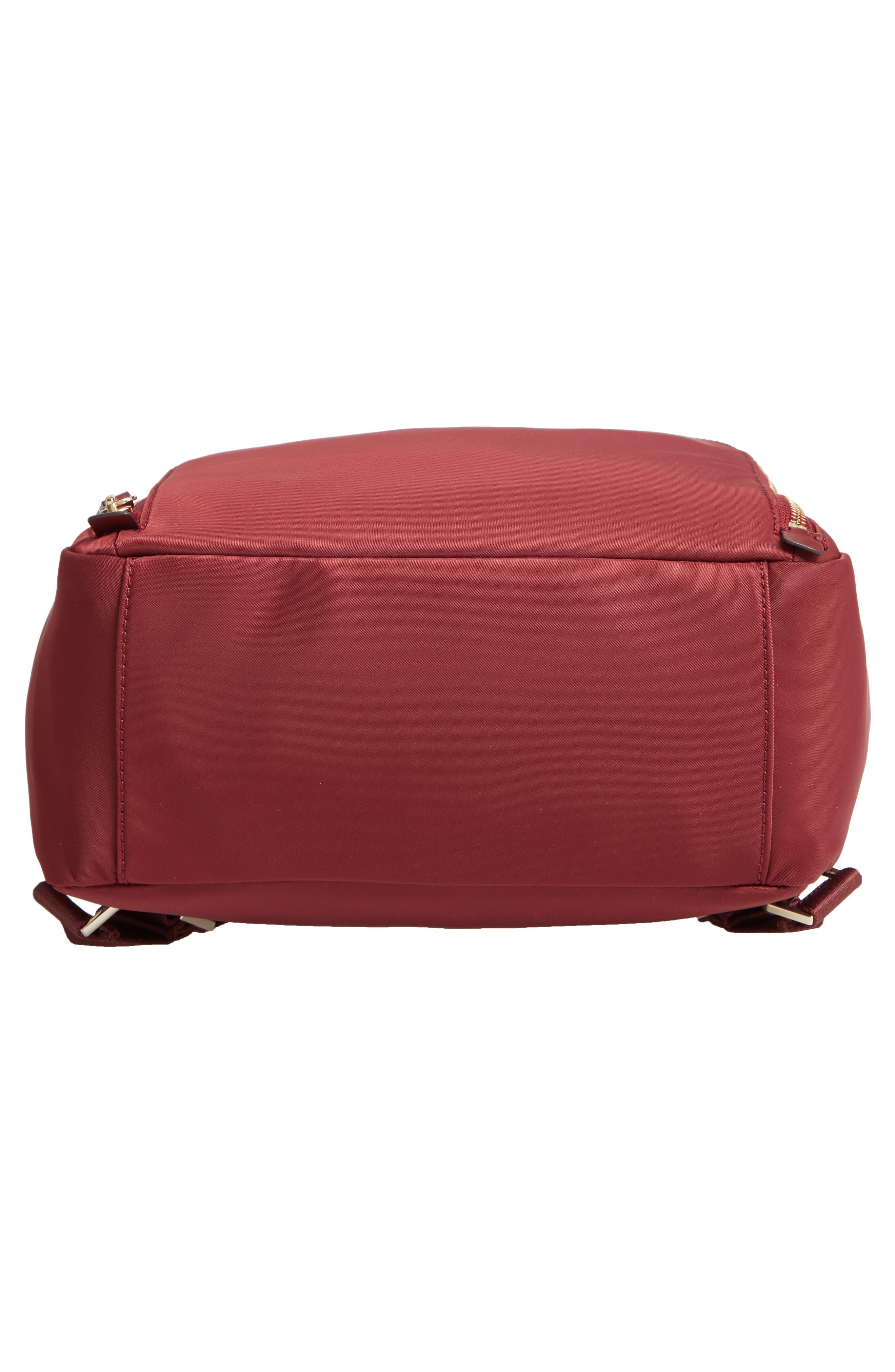 watson lane - hartley nylon backpack,                             Alternate thumbnail 6, color,                             DARK CURRANT