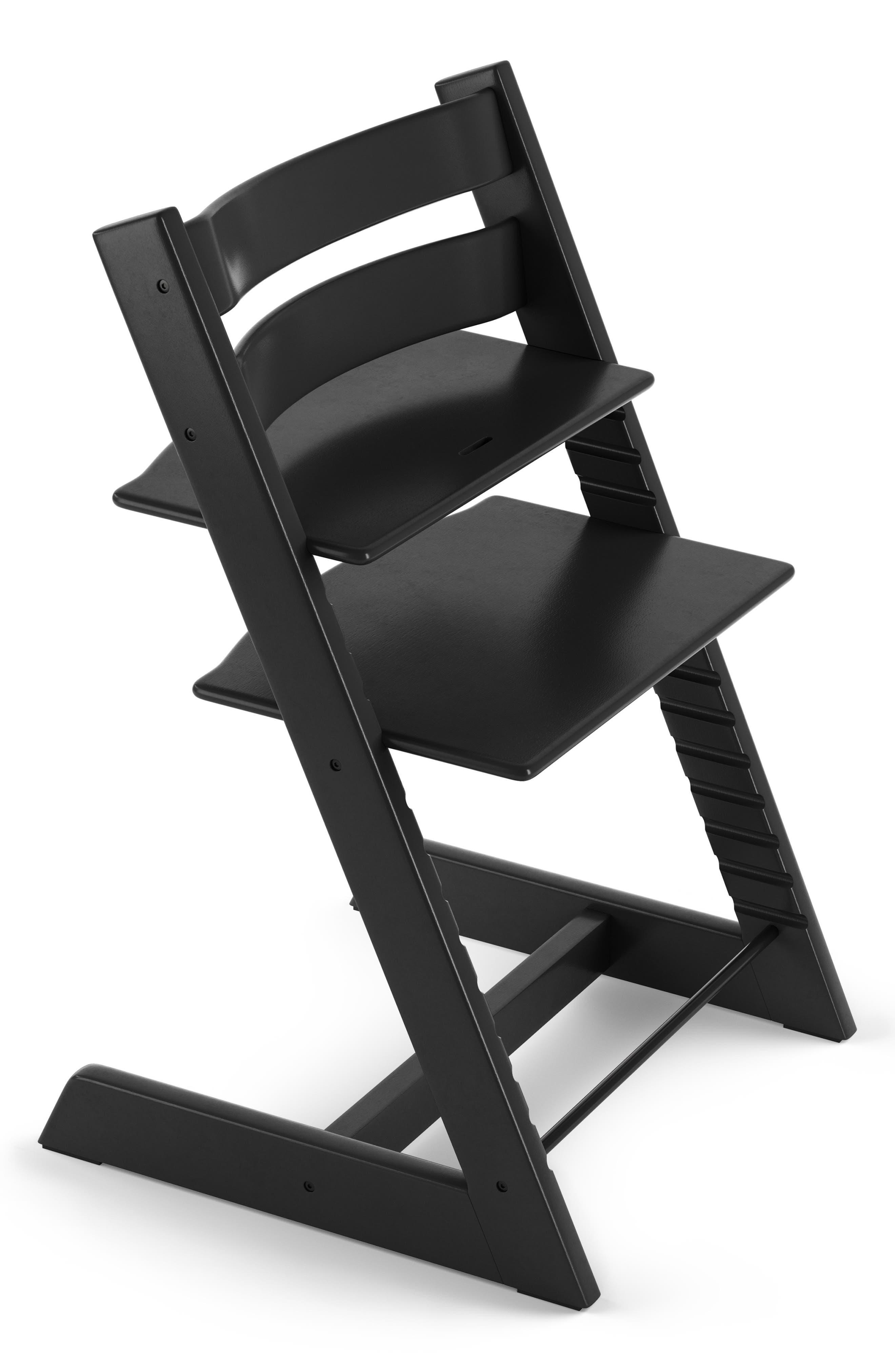 STOKKE,                             Tripp Trapp<sup>®</sup> Chair,                             Main thumbnail 1, color,                             BLACK