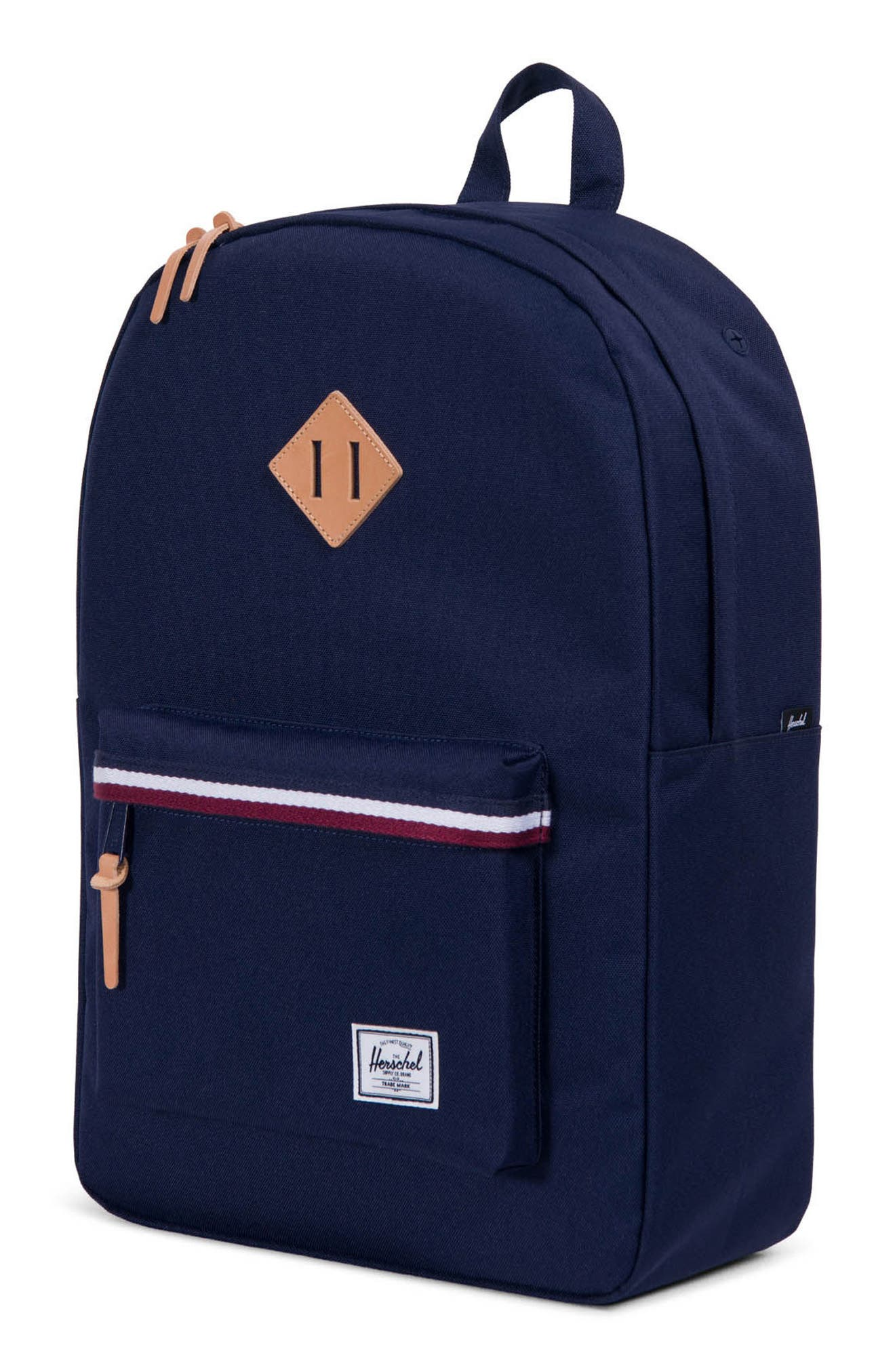 Heritage Offset Stripe Backpack,                             Alternate thumbnail 15, color,