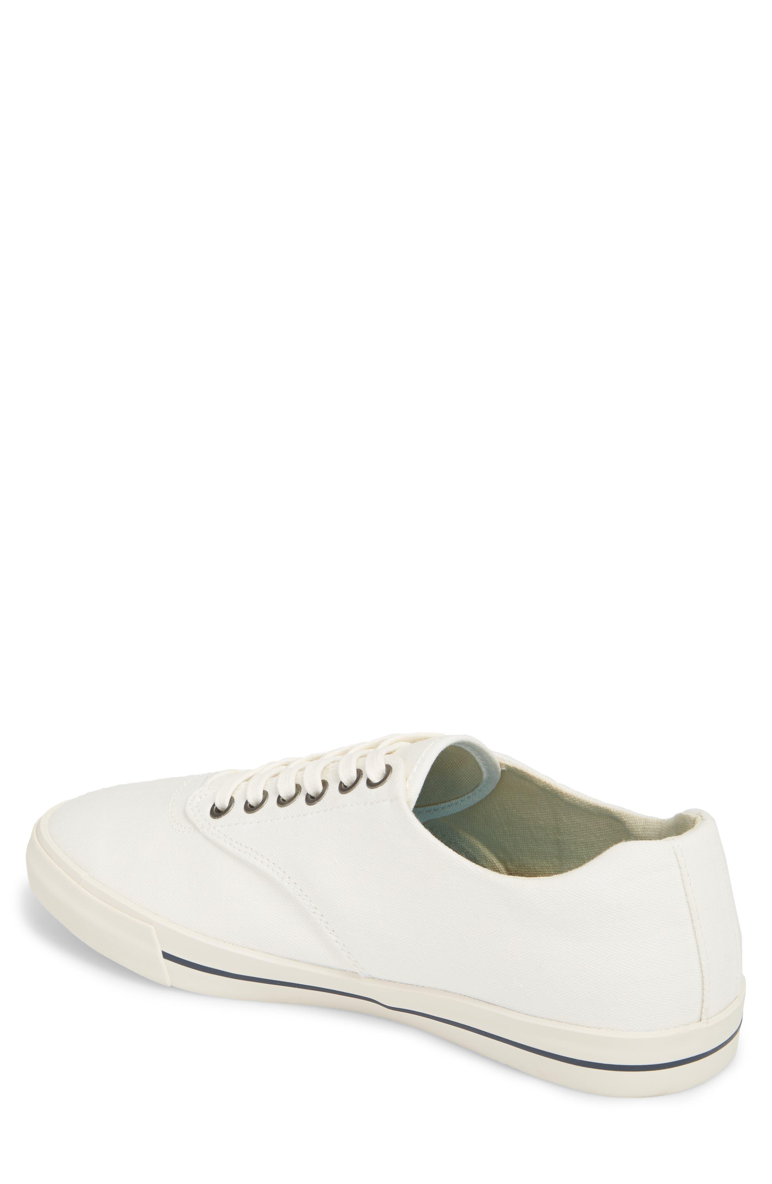 Hermosa Plimsoll Sneaker,                             Alternate thumbnail 2, color,                             BLEACH WHITE