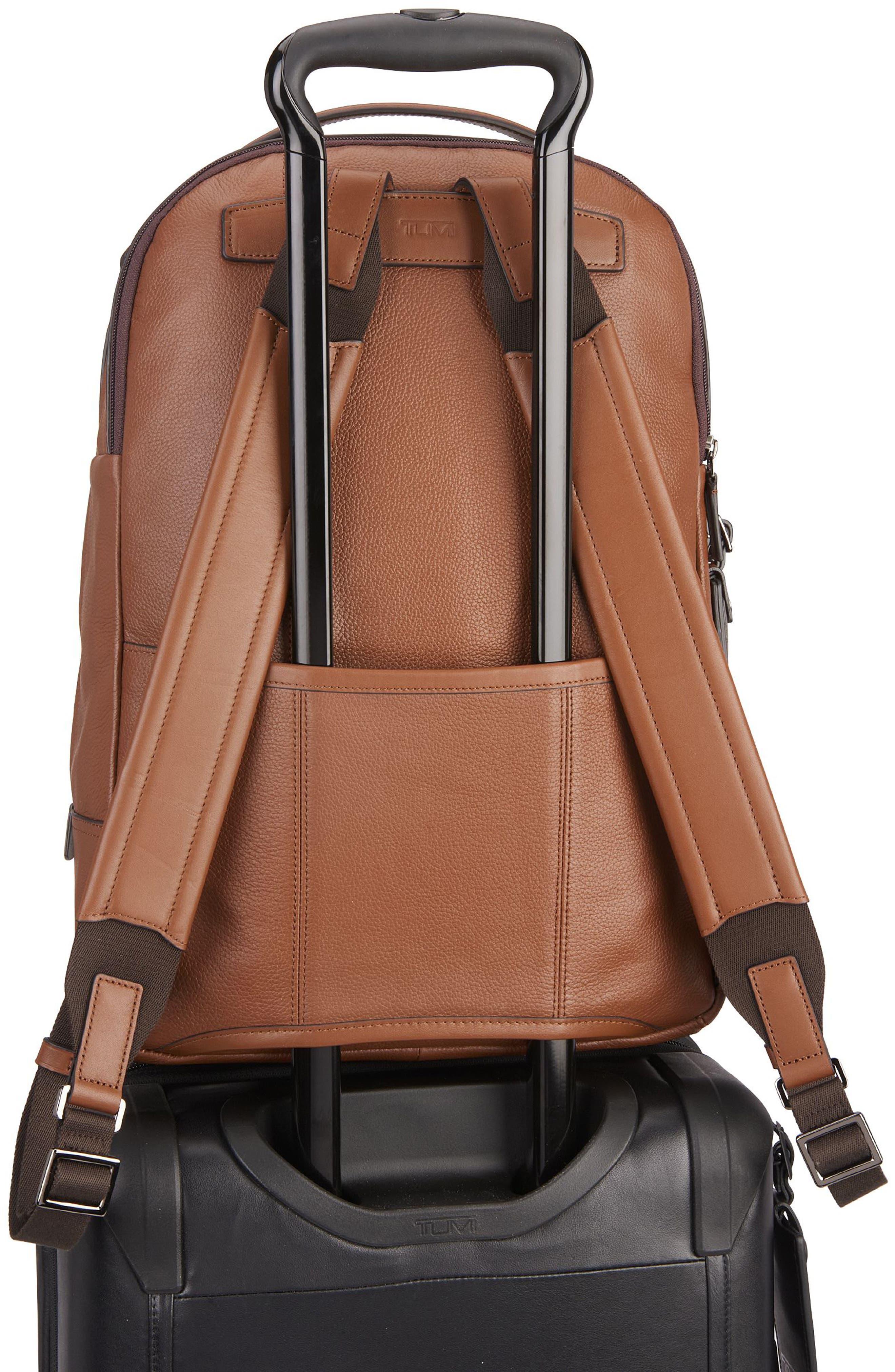 Harrison - Webster Backpack,                             Alternate thumbnail 2, color,                             UMBER PEBBLED