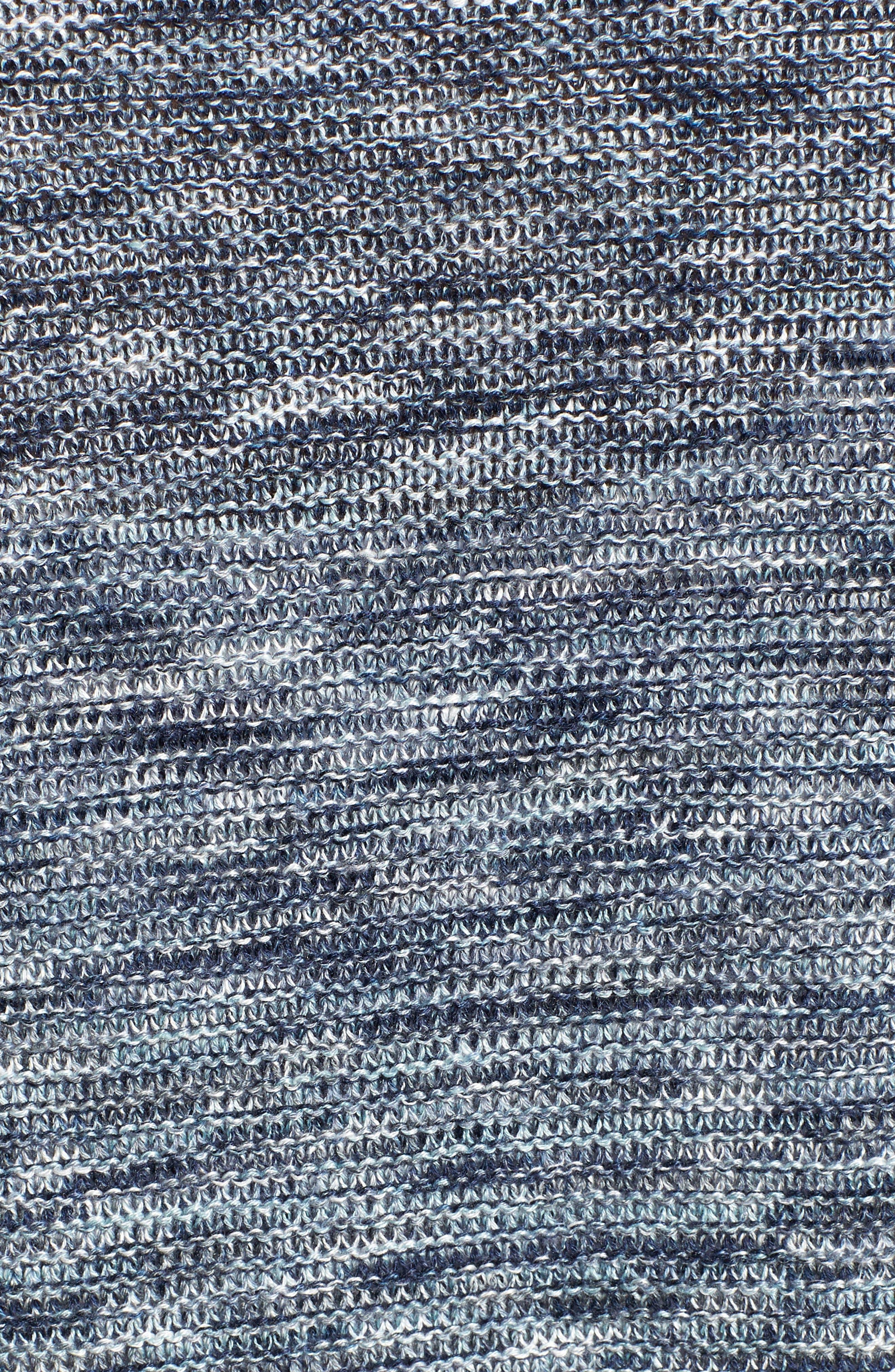 Mixed Up Linen Blend Cardigan,                             Alternate thumbnail 5, color,                             SEAFOAM