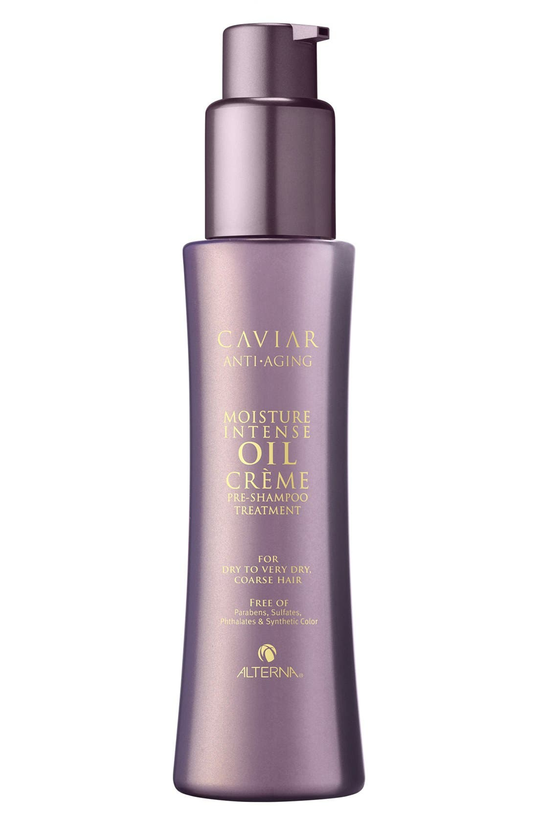 Caviar Anti-Aging Moisture Intense Oil Crème Pre-Shampoo Treatment,                             Main thumbnail 1, color,                             000