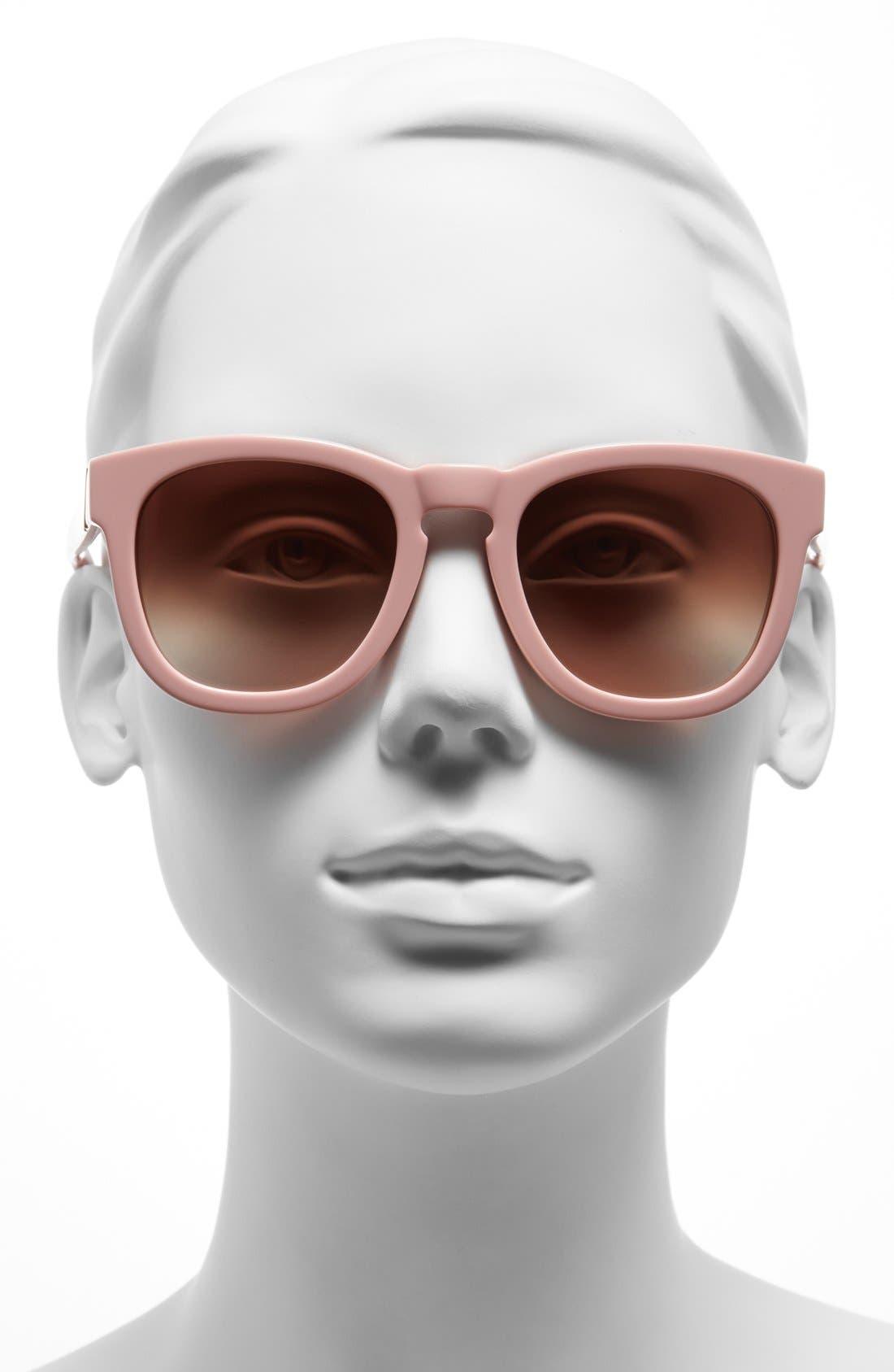 'Classic Fox' 50mm Retro Sunglasses,                             Alternate thumbnail 27, color,