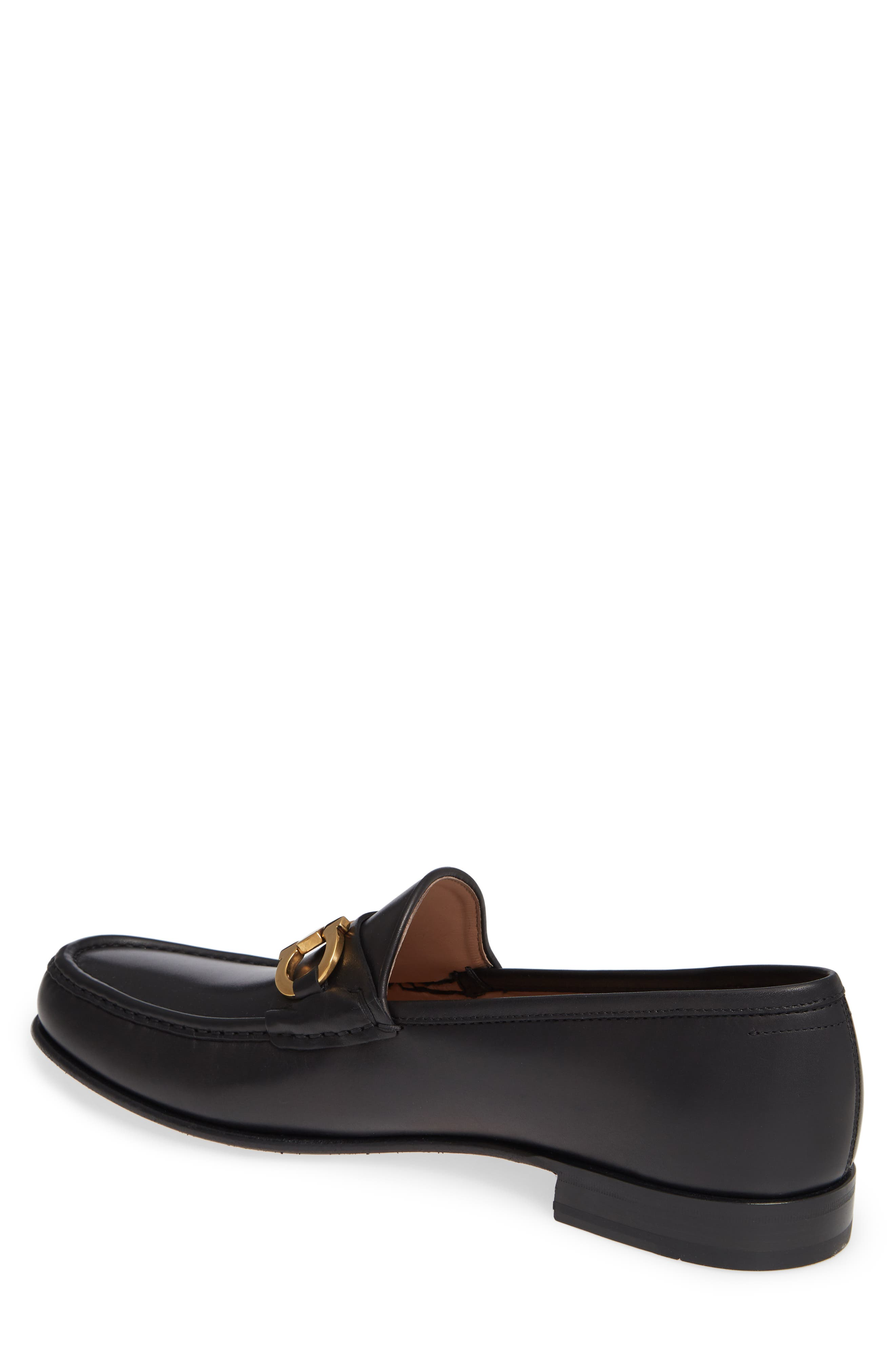 Bond Bitted Moc Loafer,                             Alternate thumbnail 2, color,                             NERO LEATHER