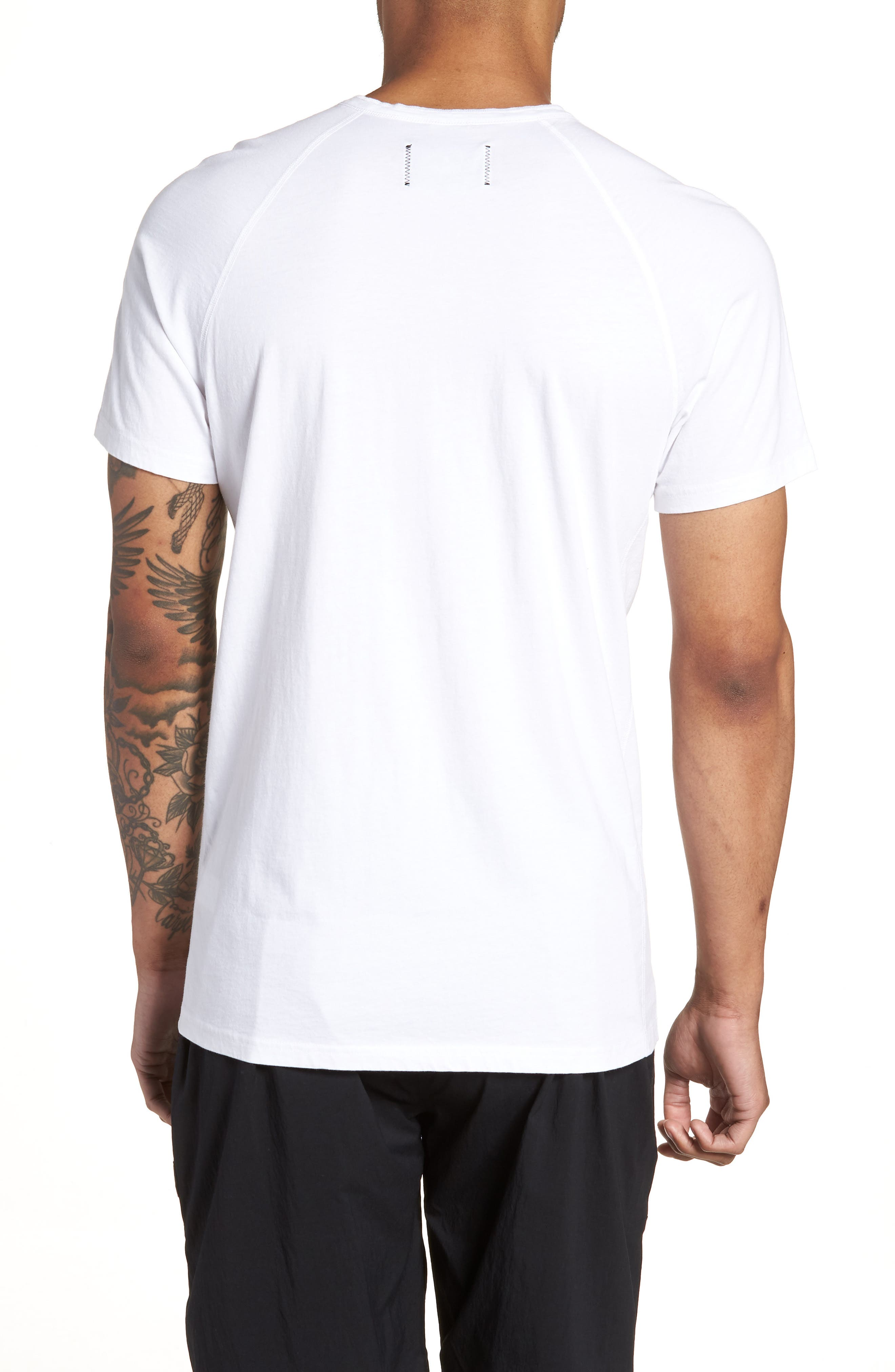 Jersey Henley,                             Alternate thumbnail 2, color,                             WHITE