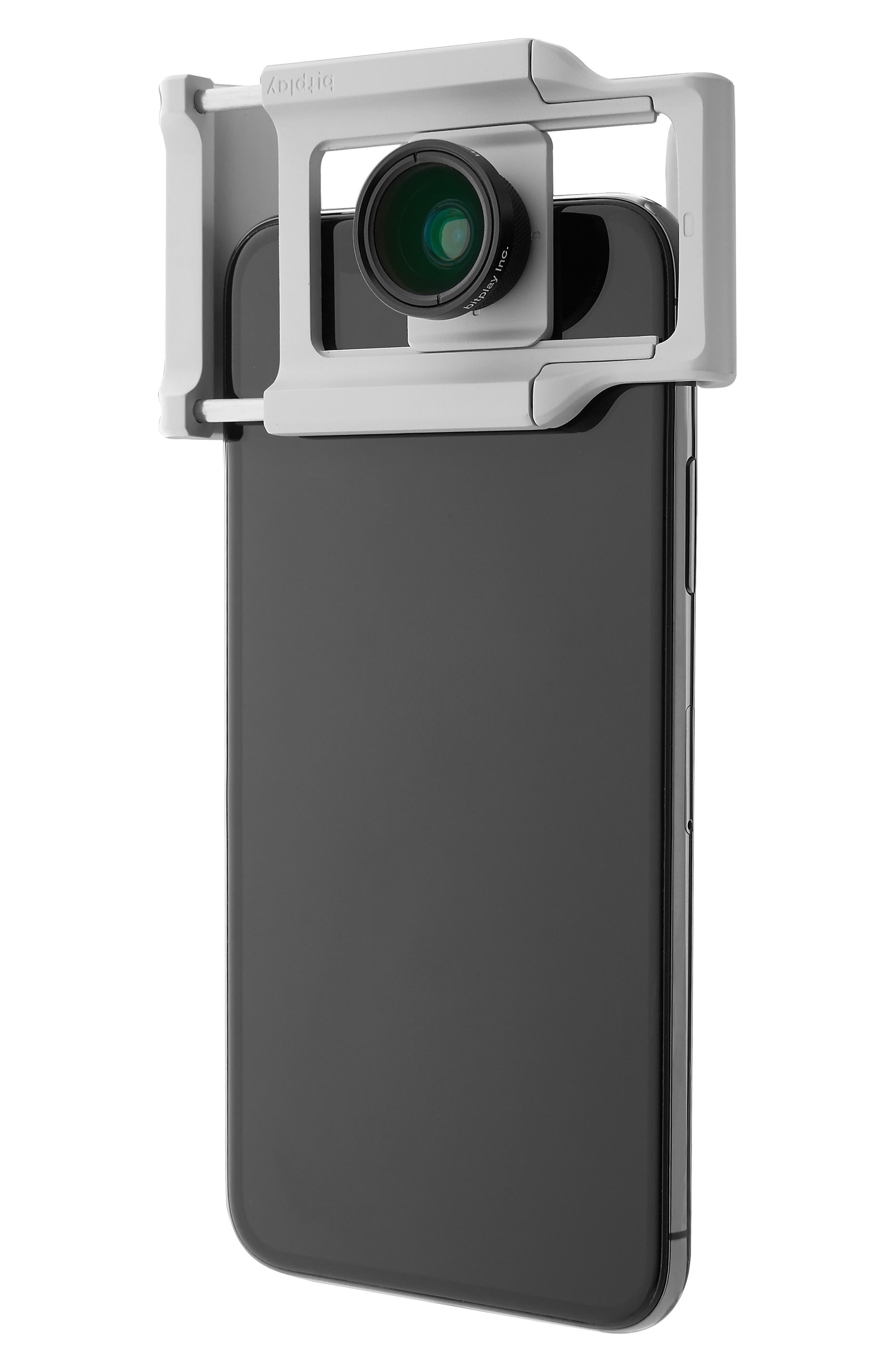 AllClip Lens Holder + Wide Angle Lens,                             Alternate thumbnail 2, color,                             SILVER