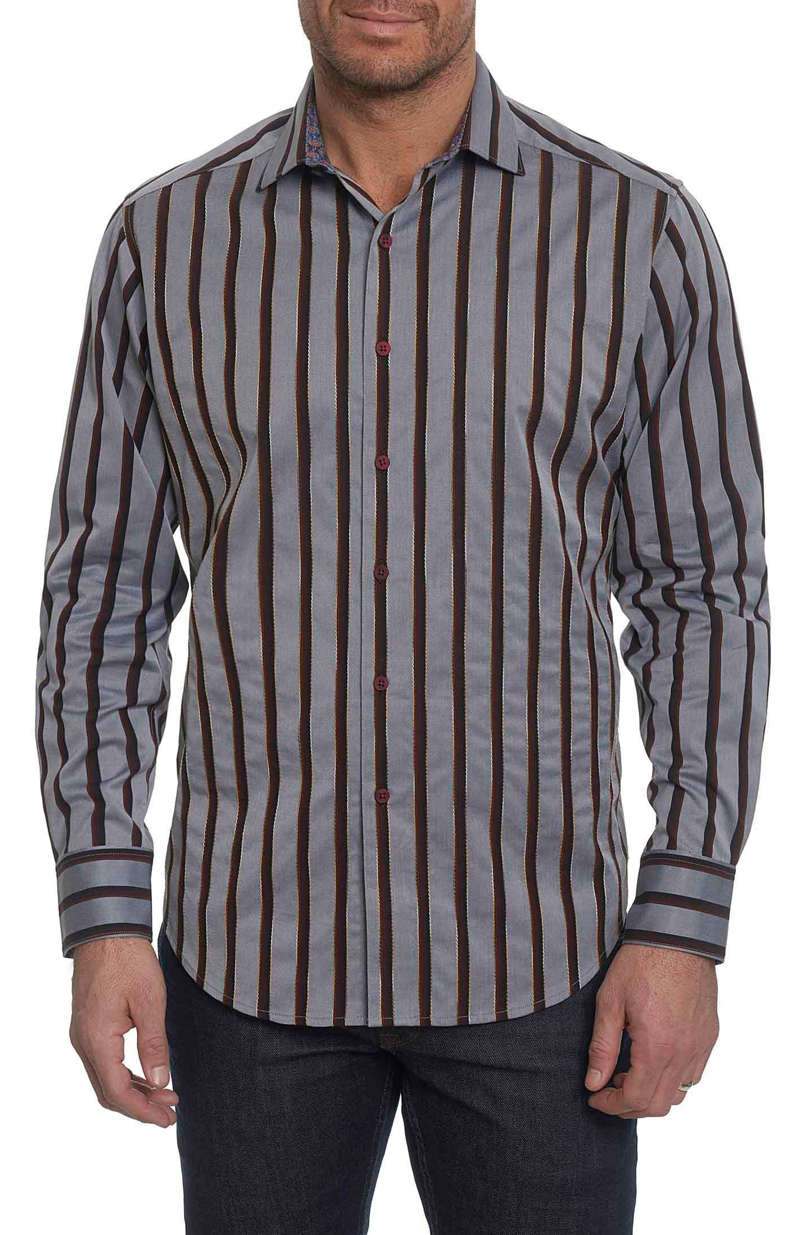 Baltica Classic Fit Stripe Sport Shirt,                         Main,                         color,