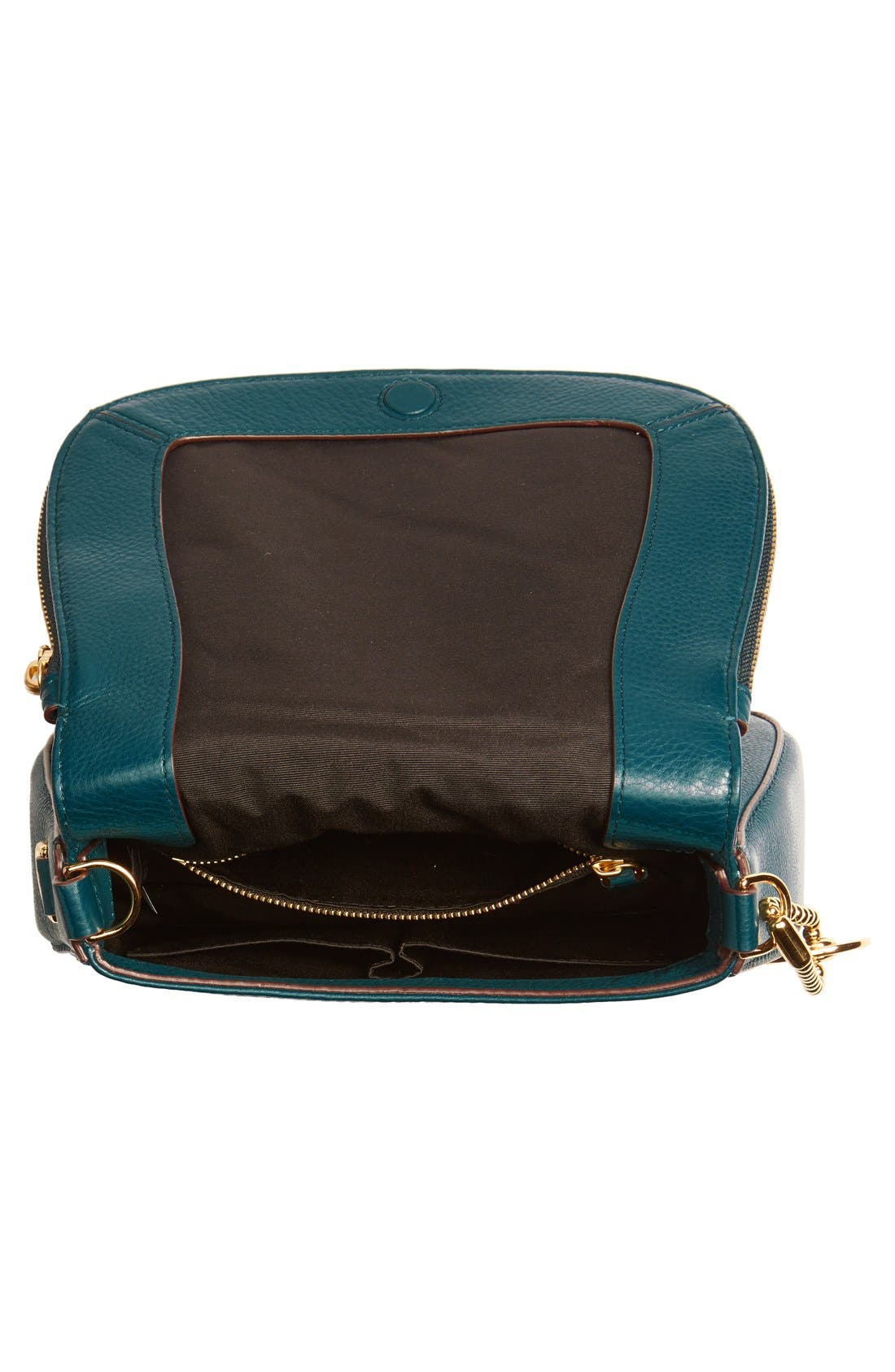 Small Recruit Nomad Pebbled Leather Crossbody Bag,                             Alternate thumbnail 51, color,