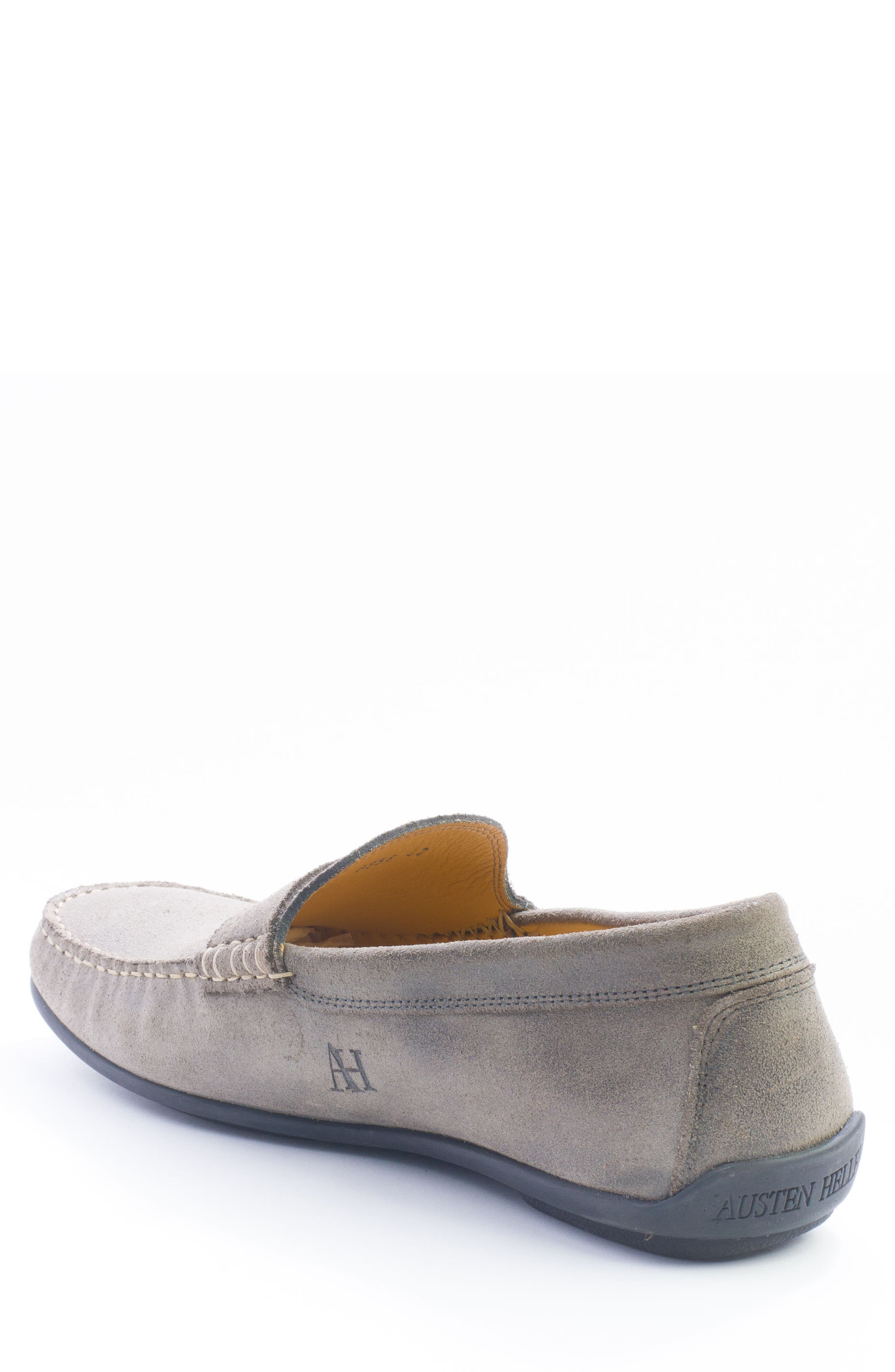 Barretts Penny Loafer,                             Alternate thumbnail 2, color,                             GREY