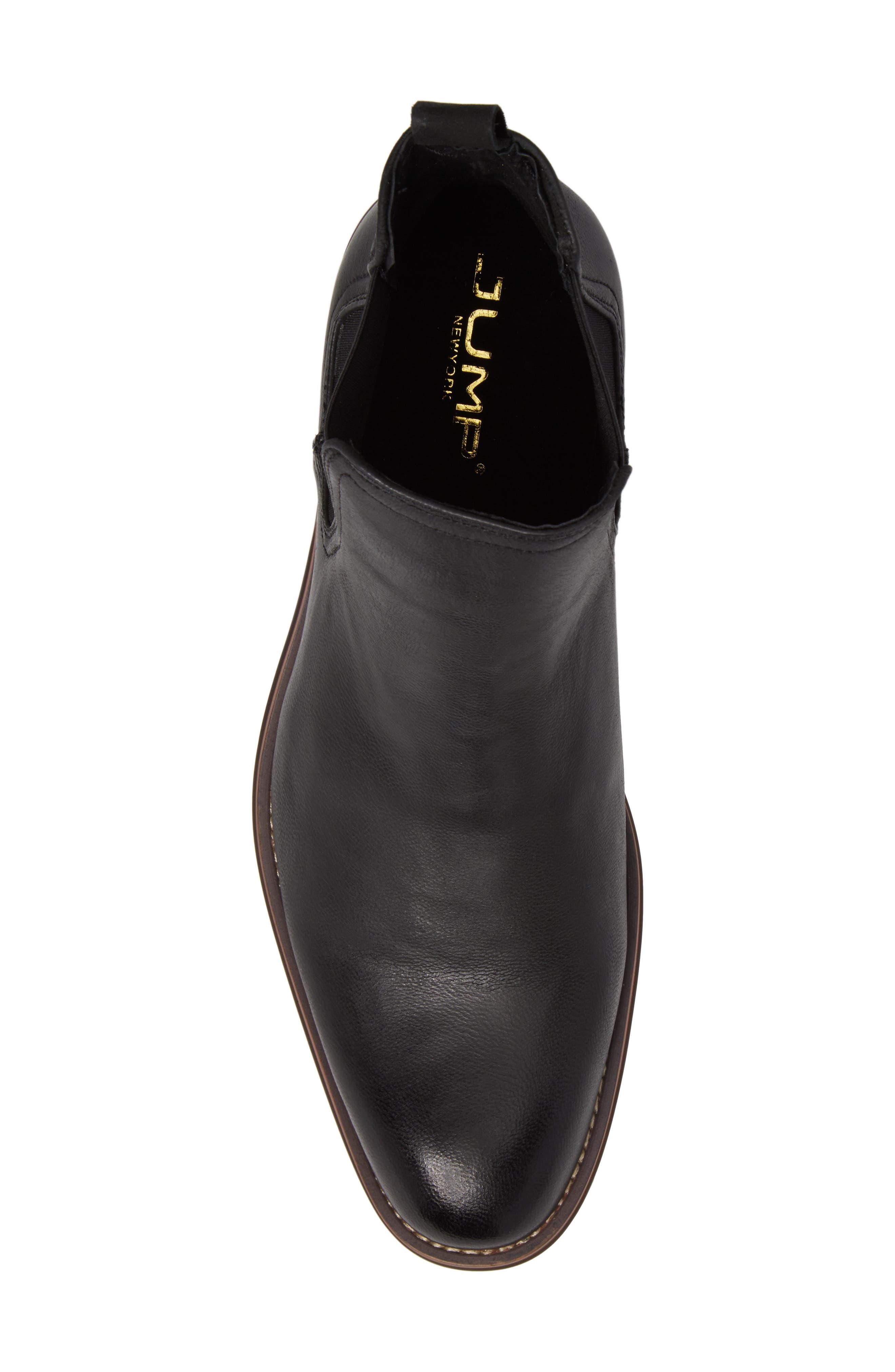 Lawson Chelsea Boot,                             Alternate thumbnail 5, color,                             BLACK