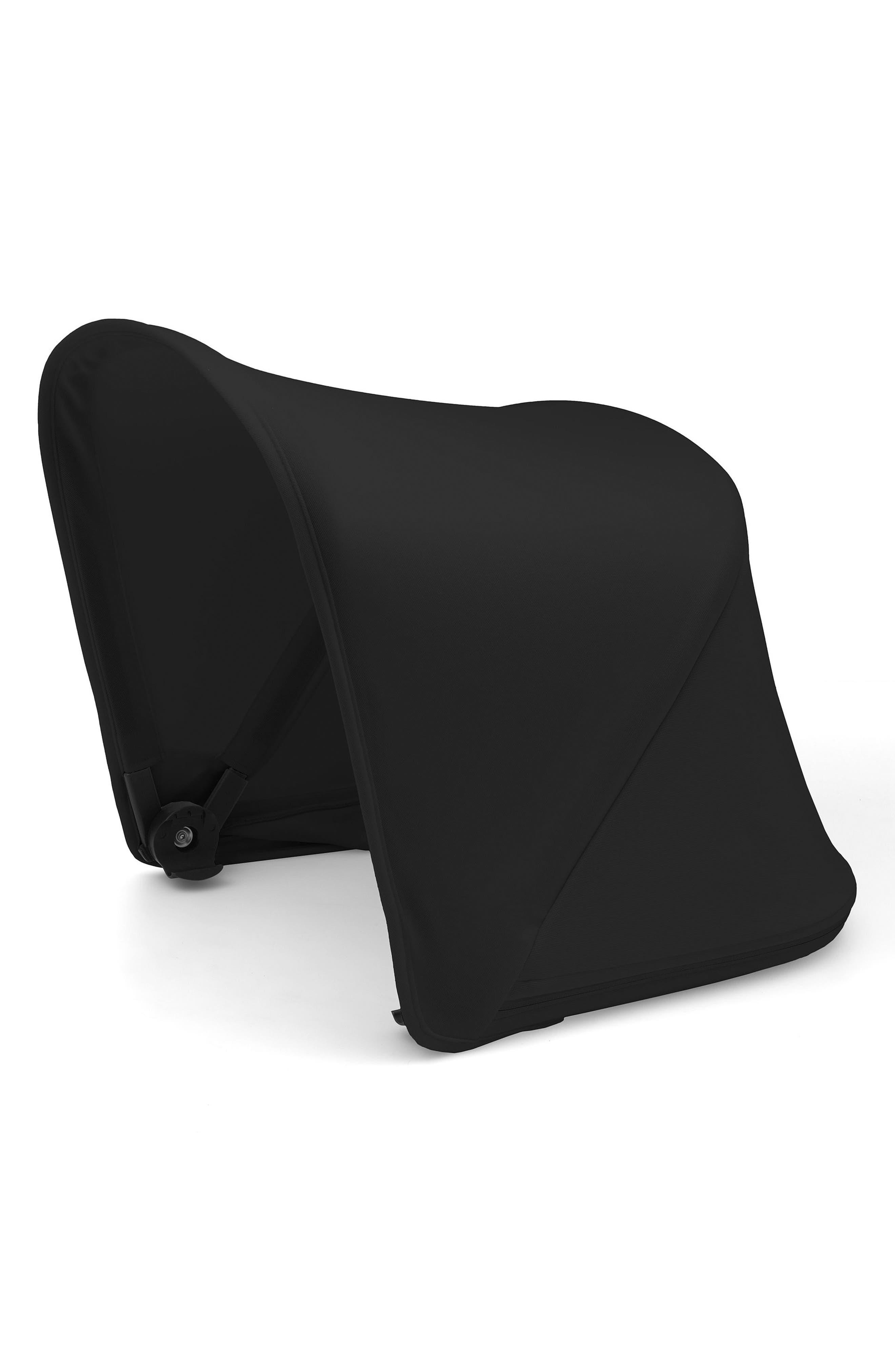 Sun Canopy for Bugaboo Fox Stroller,                             Main thumbnail 1, color,                             BLACK