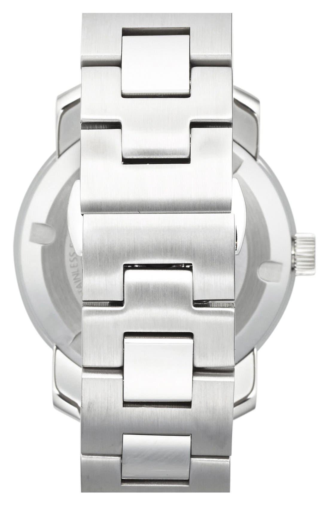 Bold Crystal Marker Bracelet Watch, 36mm,                             Alternate thumbnail 3, color,                             040