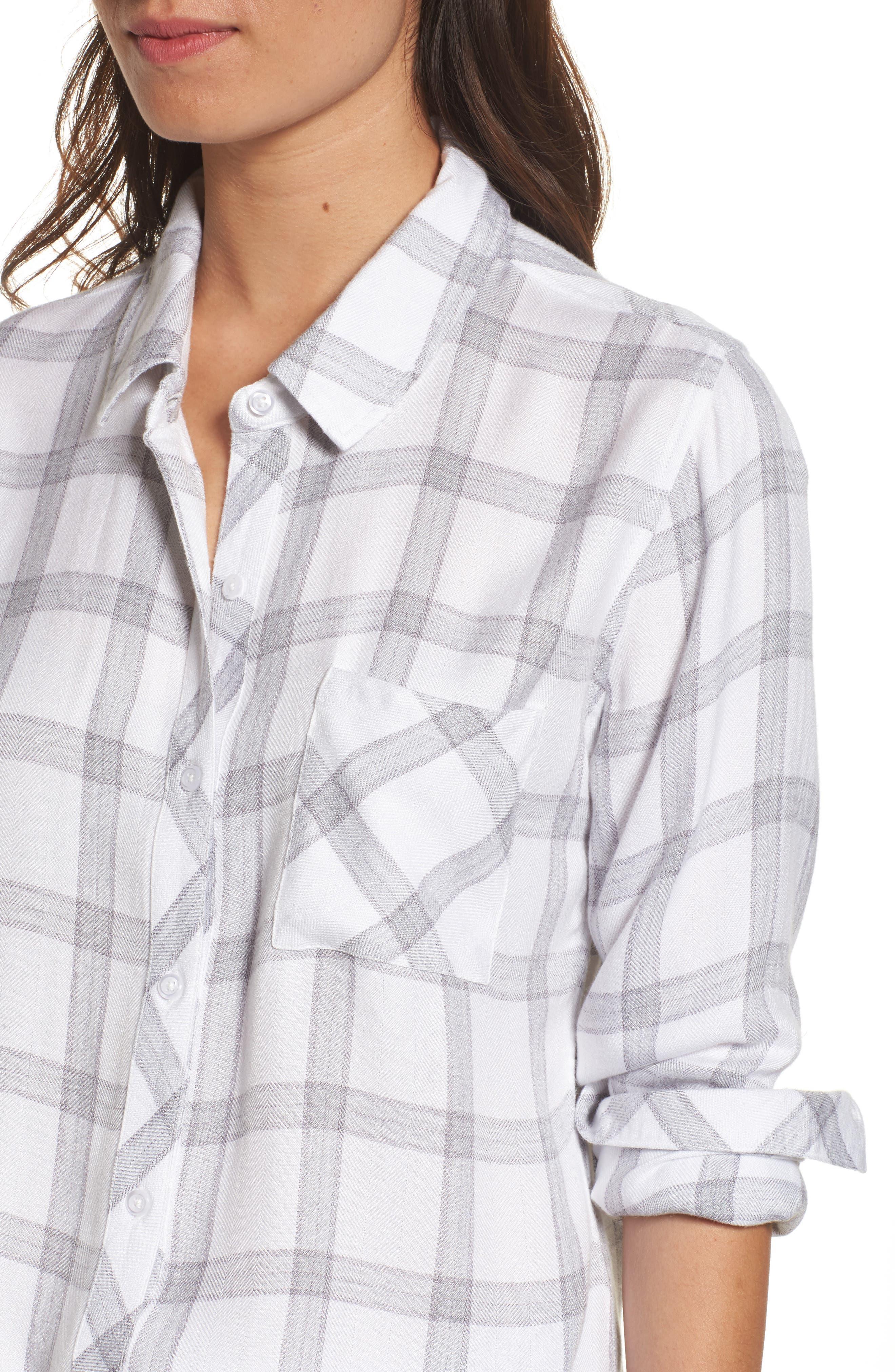 Hunter Plaid Shirt,                             Alternate thumbnail 519, color,