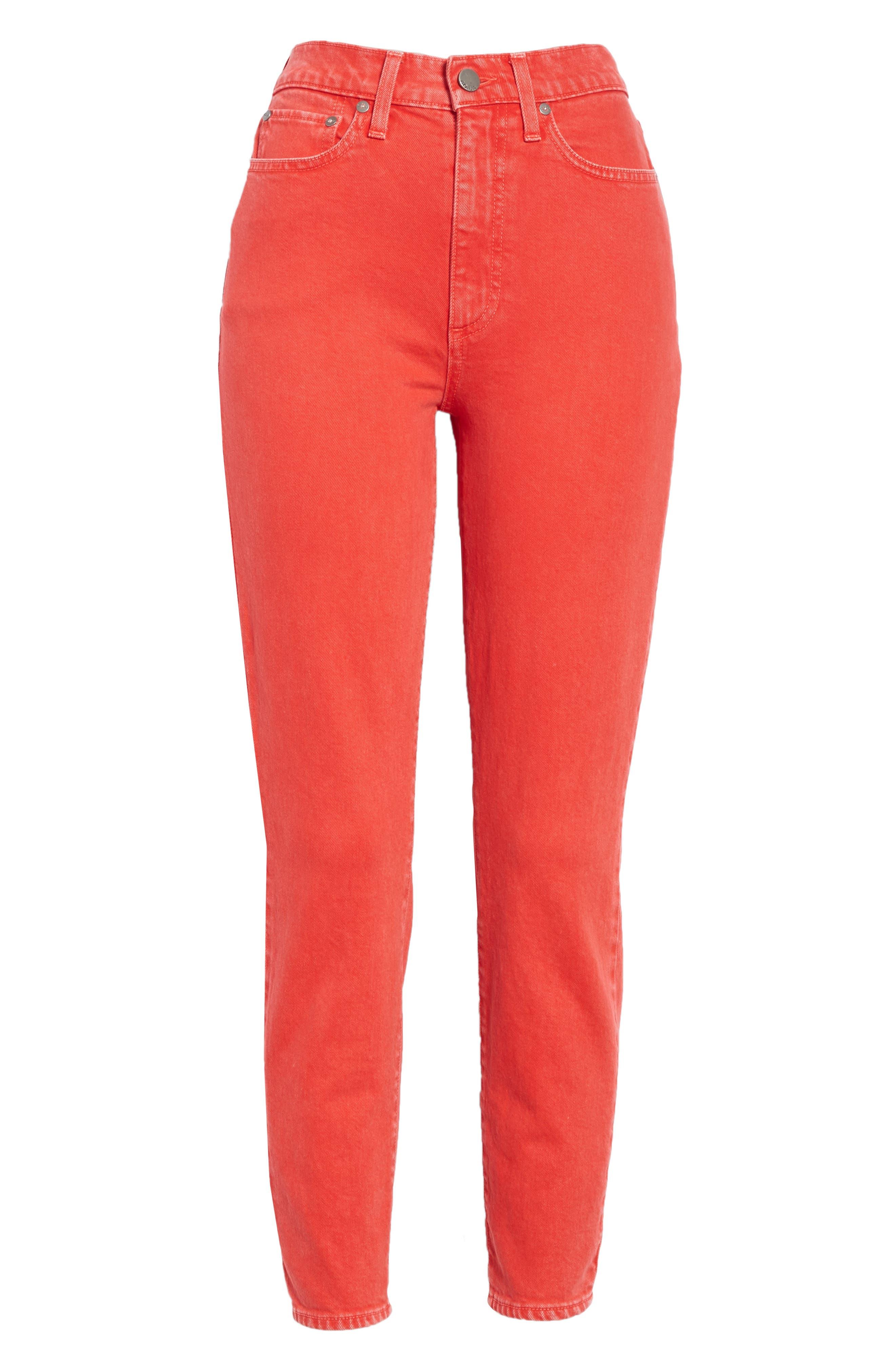 AO.LA Good High Rise Ankle Skinny Jeans,                             Alternate thumbnail 6, color,