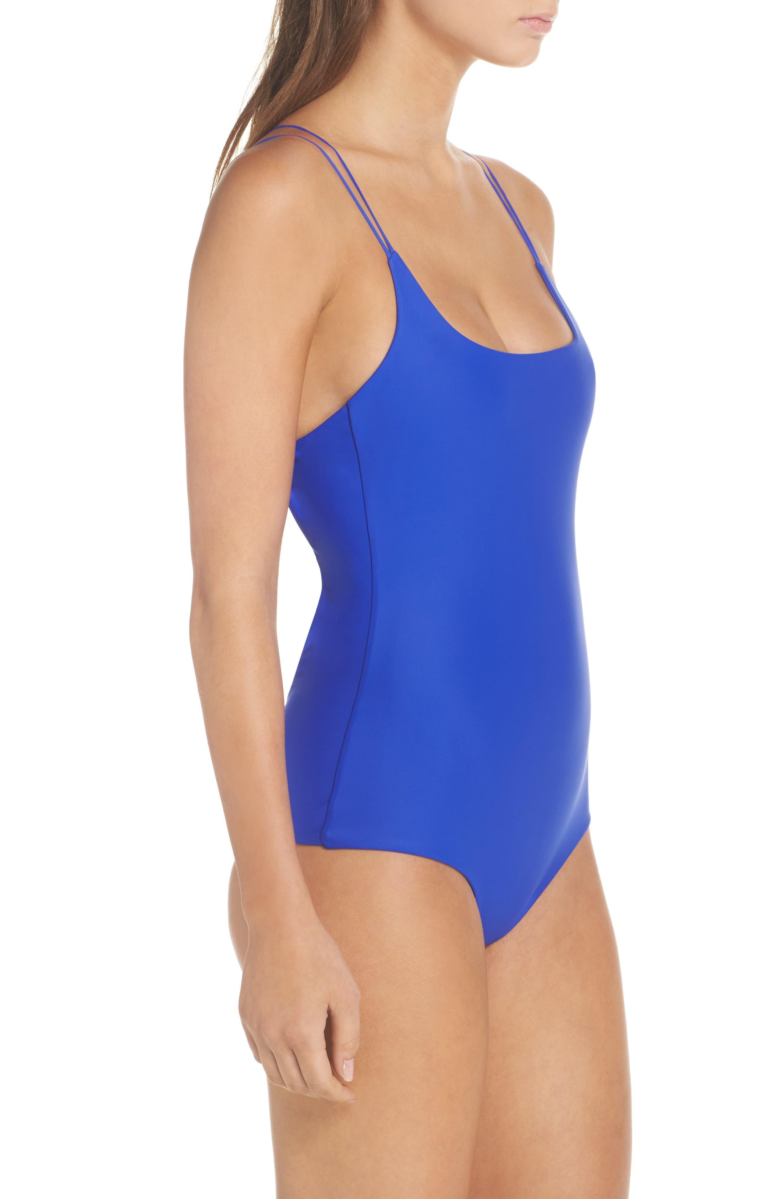 Kilauea One-Piece Swimsuit,                             Alternate thumbnail 3, color,                             400