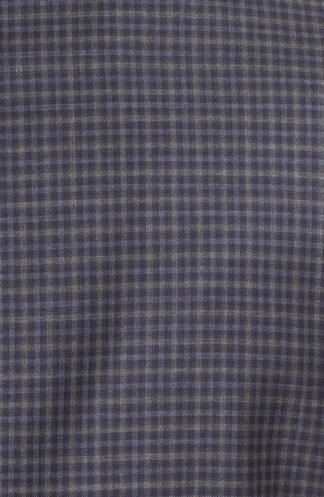 Classic Fit Check Wool Sport Coat,                             Alternate thumbnail 5, color,                             404