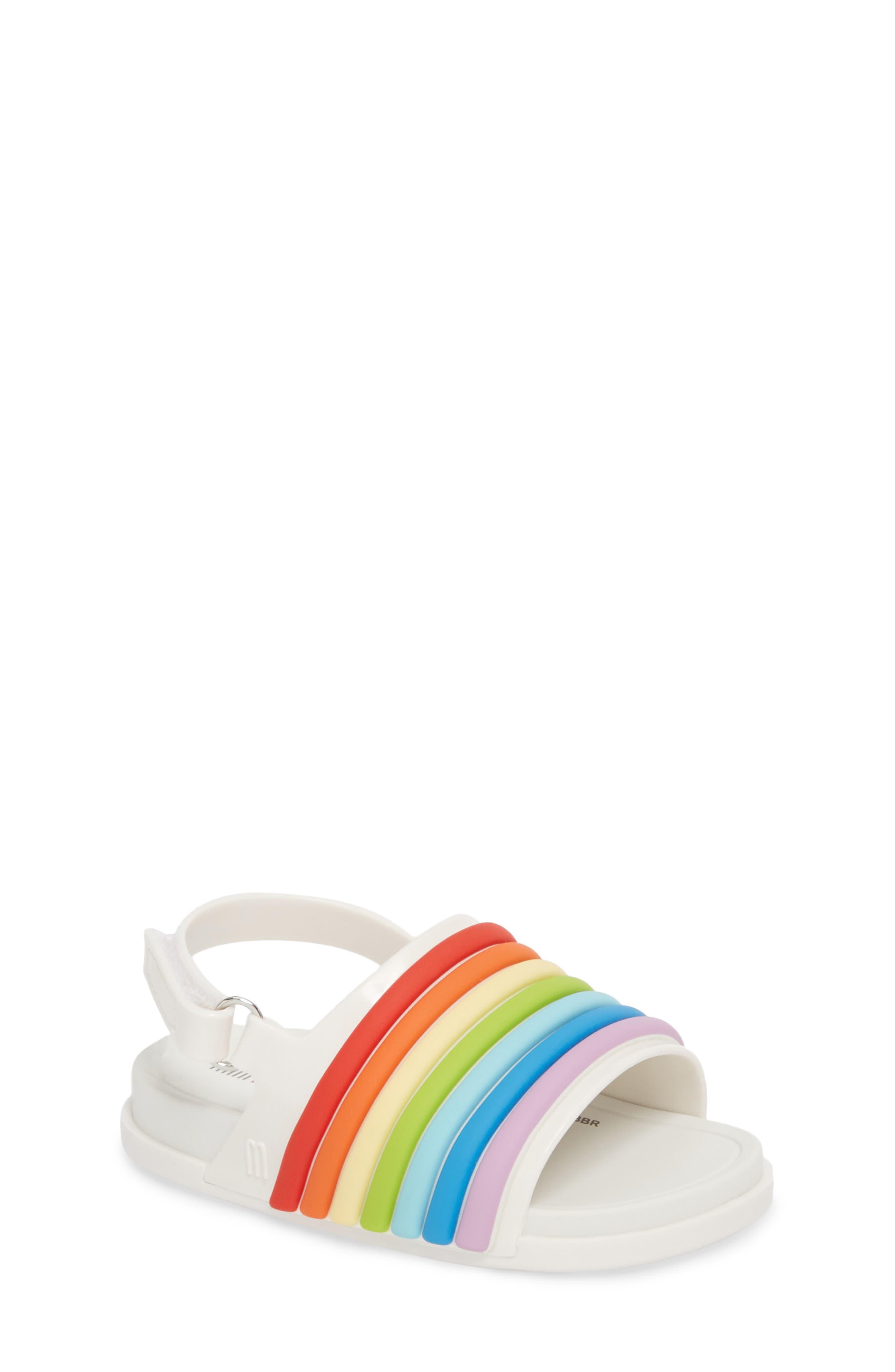 Rainbow Beach Sandal,                             Main thumbnail 1, color,                             100