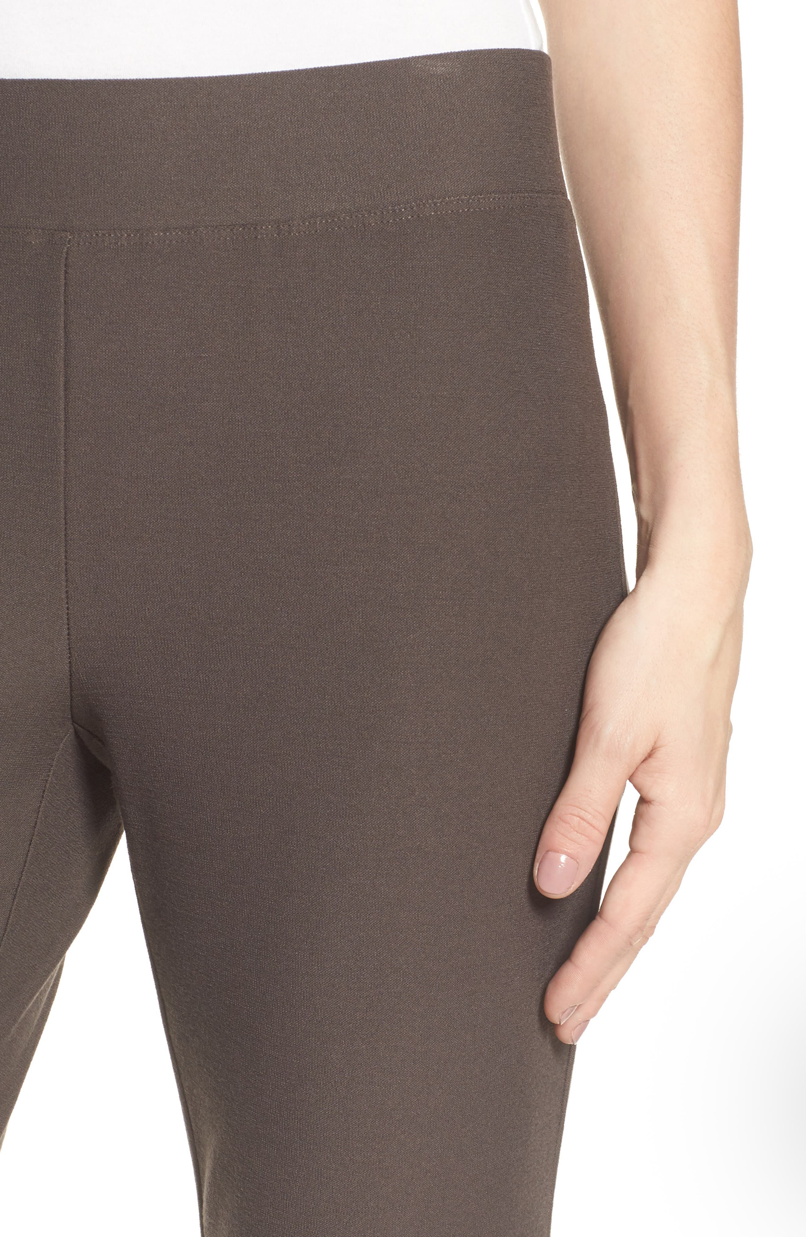 Notch Cuff Slim Crop Pants,                             Alternate thumbnail 4, color,                             024