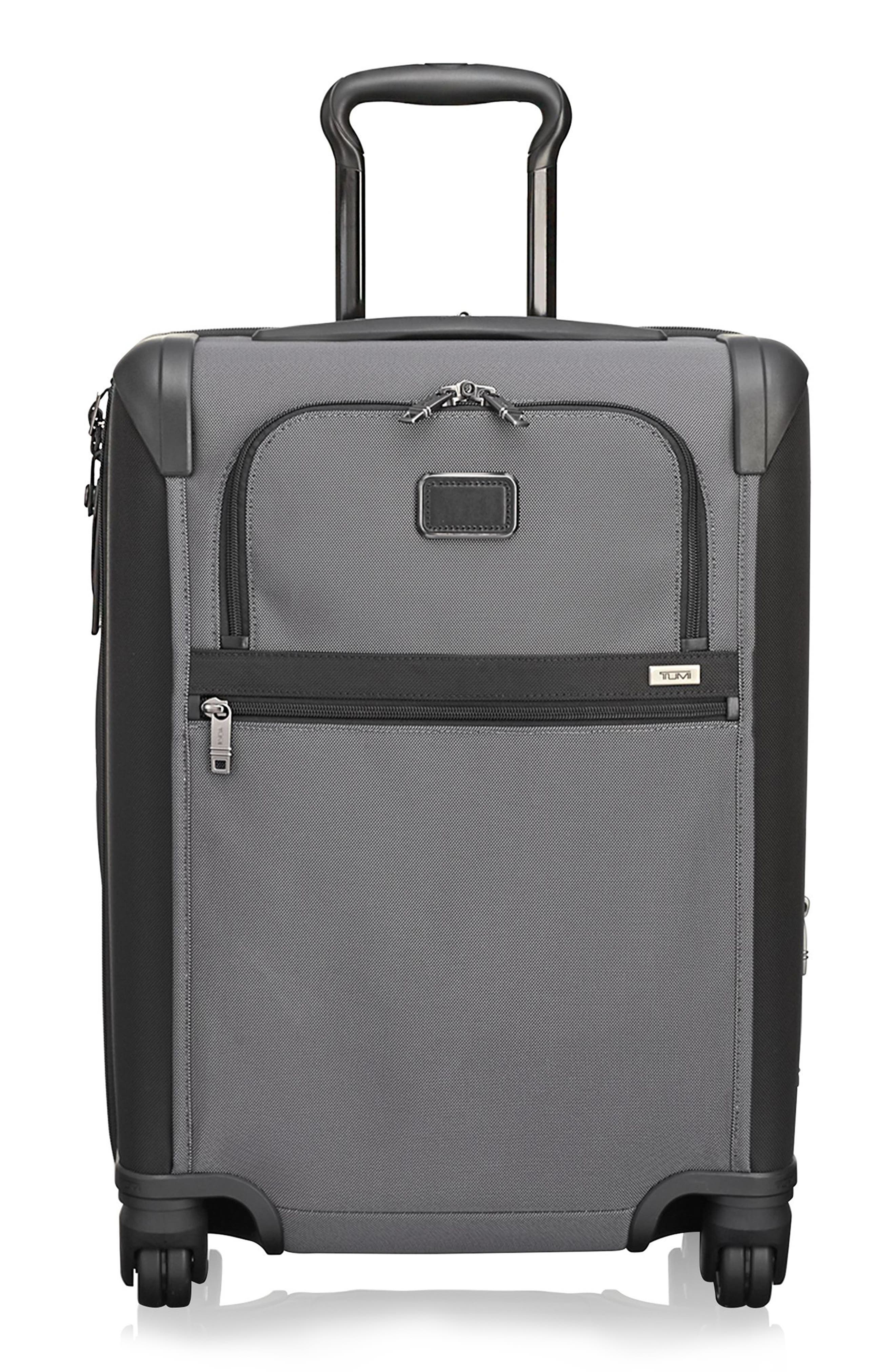 Alpha 2 22-Inch Continental Wheeled Carry-On,                             Main thumbnail 1, color,                             PEWTER