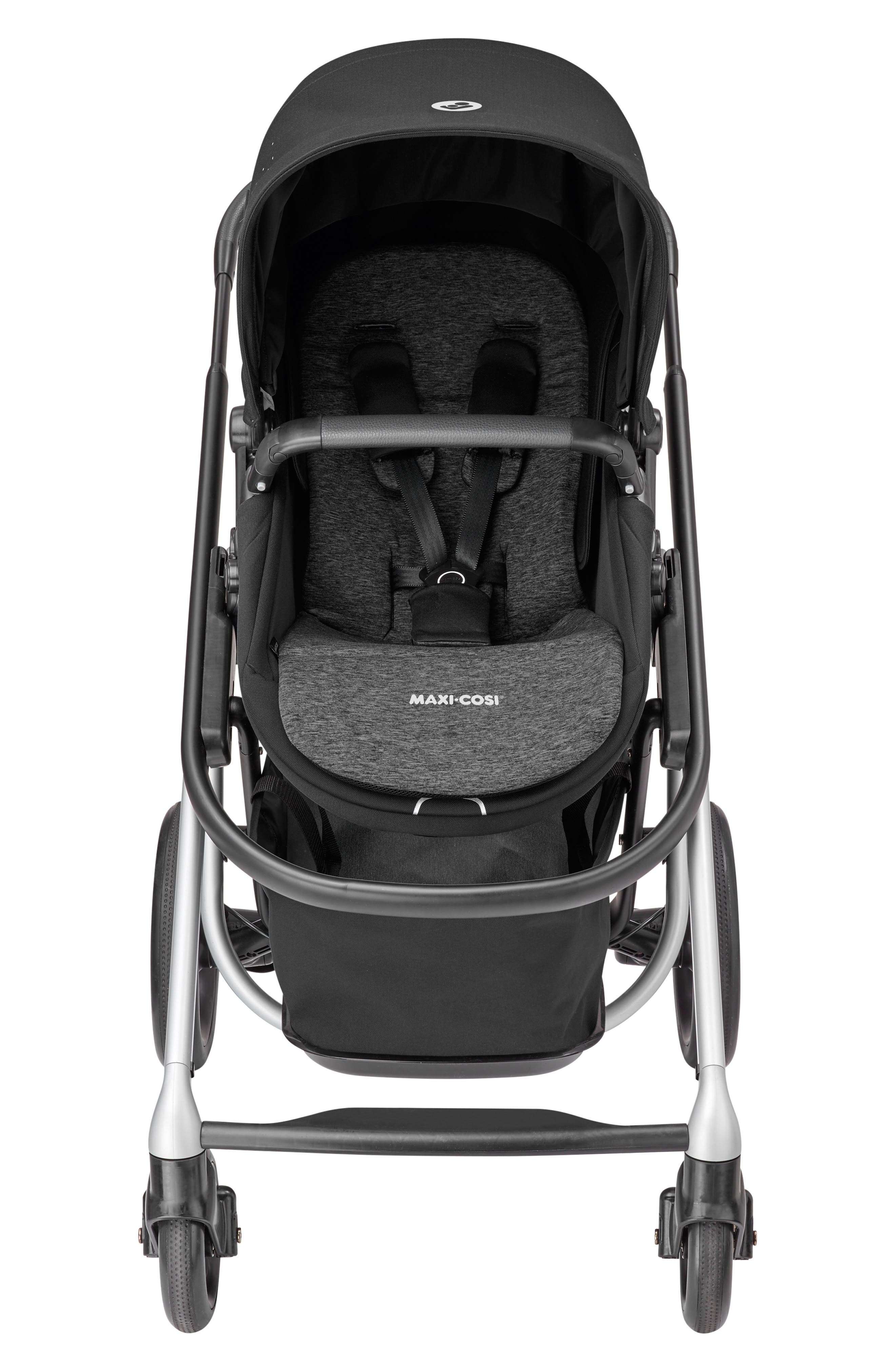 MAXI-COSI<SUP>®</SUP>,                             Lila Modular Stroller,                             Alternate thumbnail 6, color,                             NOMAD BLACK