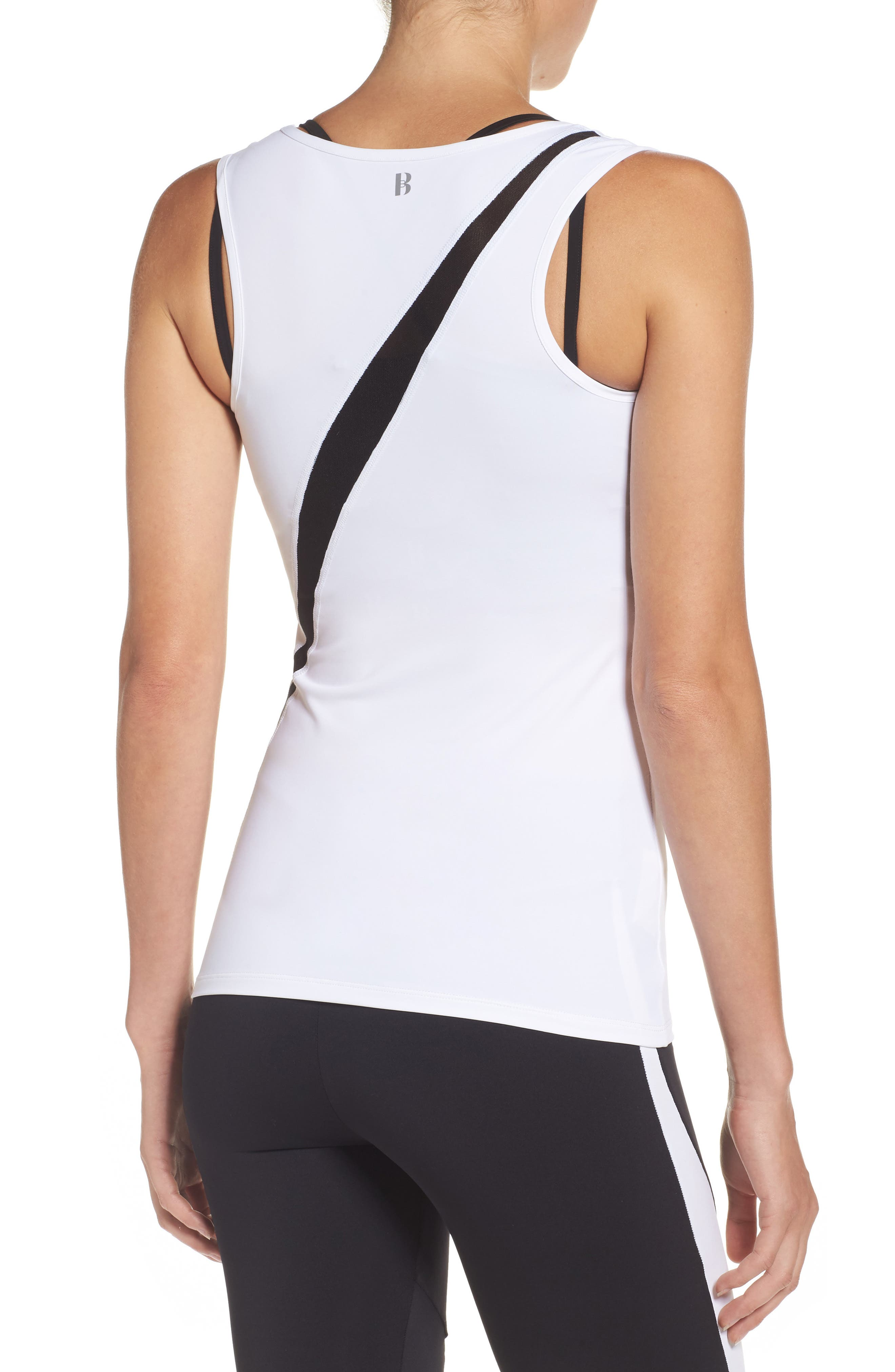 BoomBoom Athletica Sport Racerback Tank,                             Alternate thumbnail 2, color,                             100