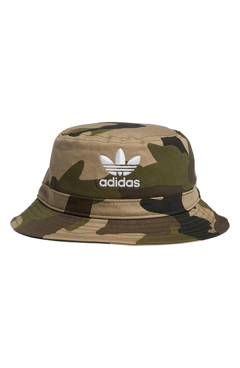 b8f60c3b908 adidas Originals Camo Bucket Hat