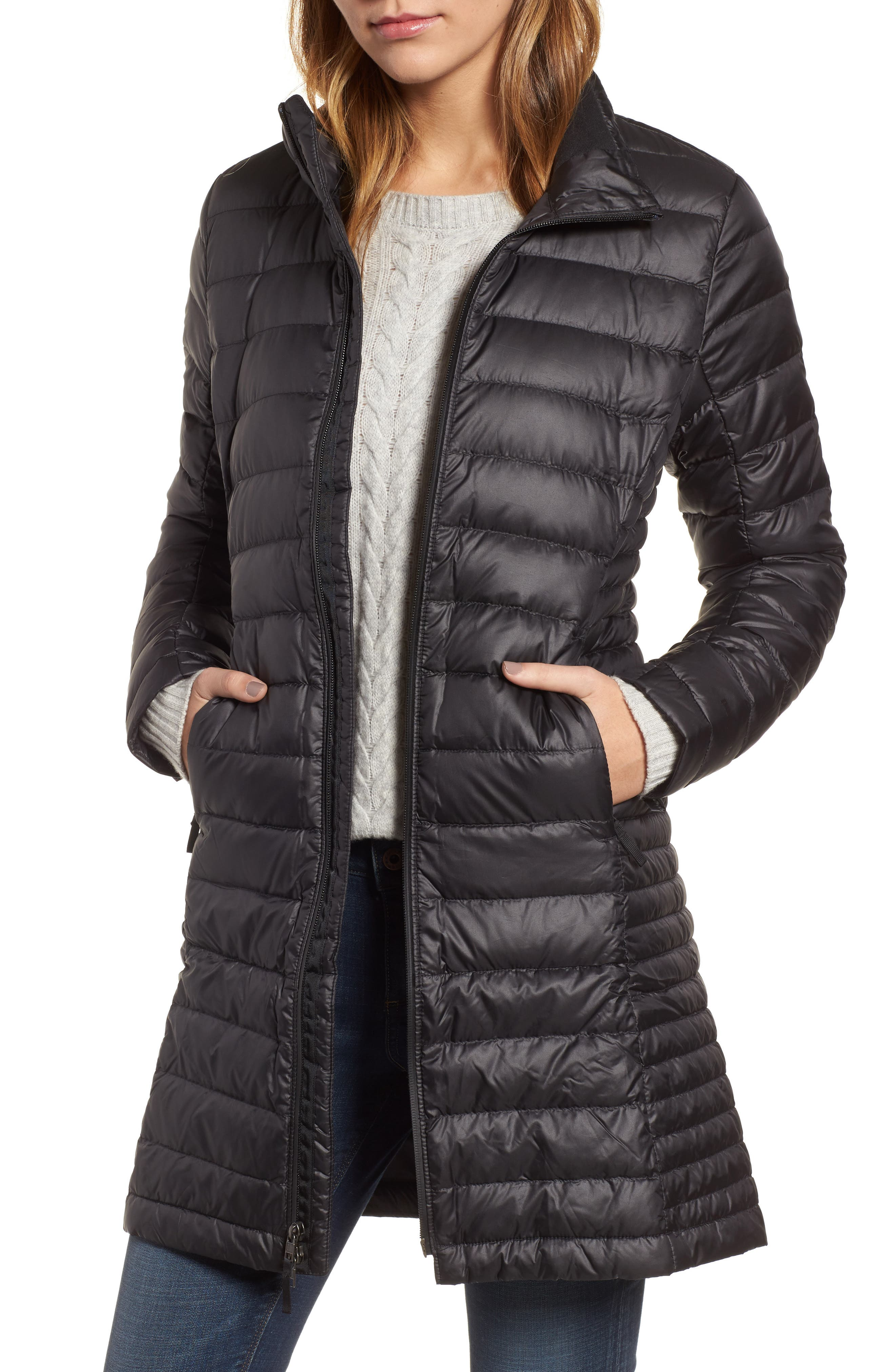 Fiona Water Repellent 600-Fill-Power Down Parka,                         Main,                         color, 001