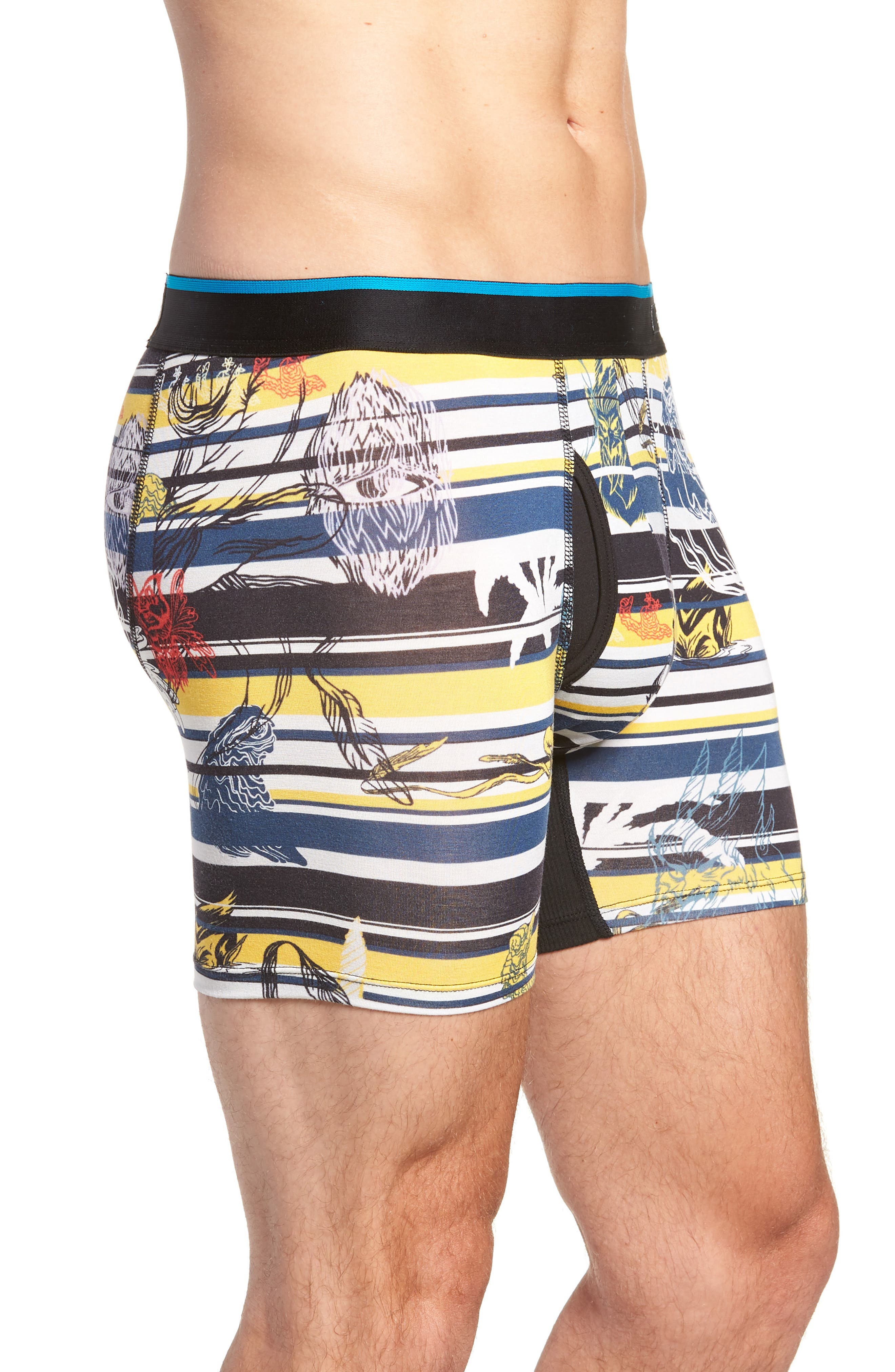 New Mythology Boxer Briefs,                             Alternate thumbnail 3, color,                             YELLOW