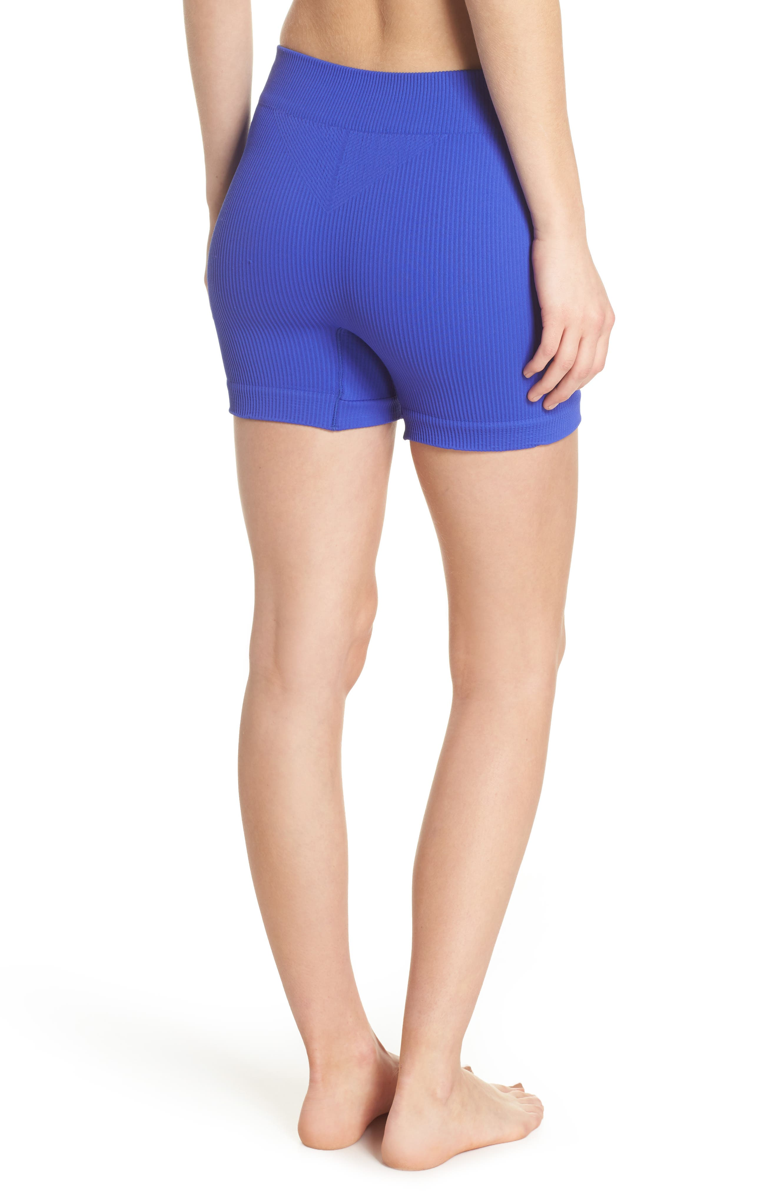 Free People Seamless Shorts,                             Alternate thumbnail 4, color,