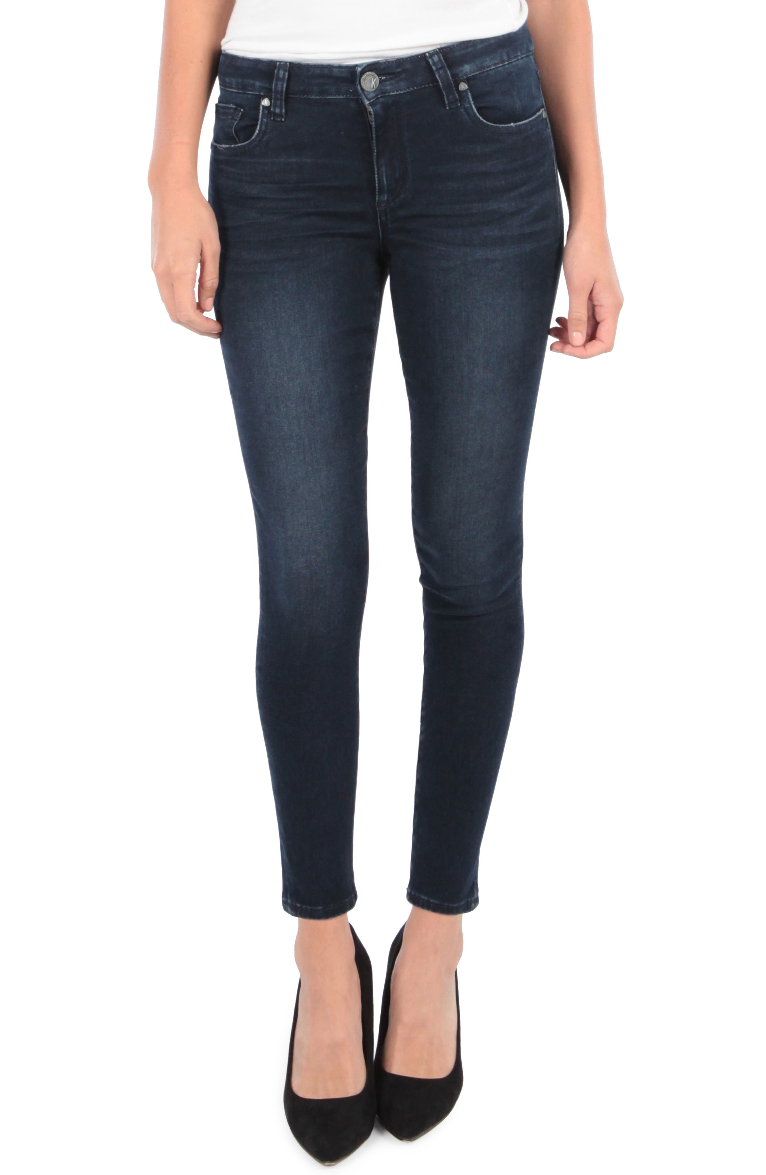 Kut From The Kloth Donna Ankle Skinny Jeans, Blue