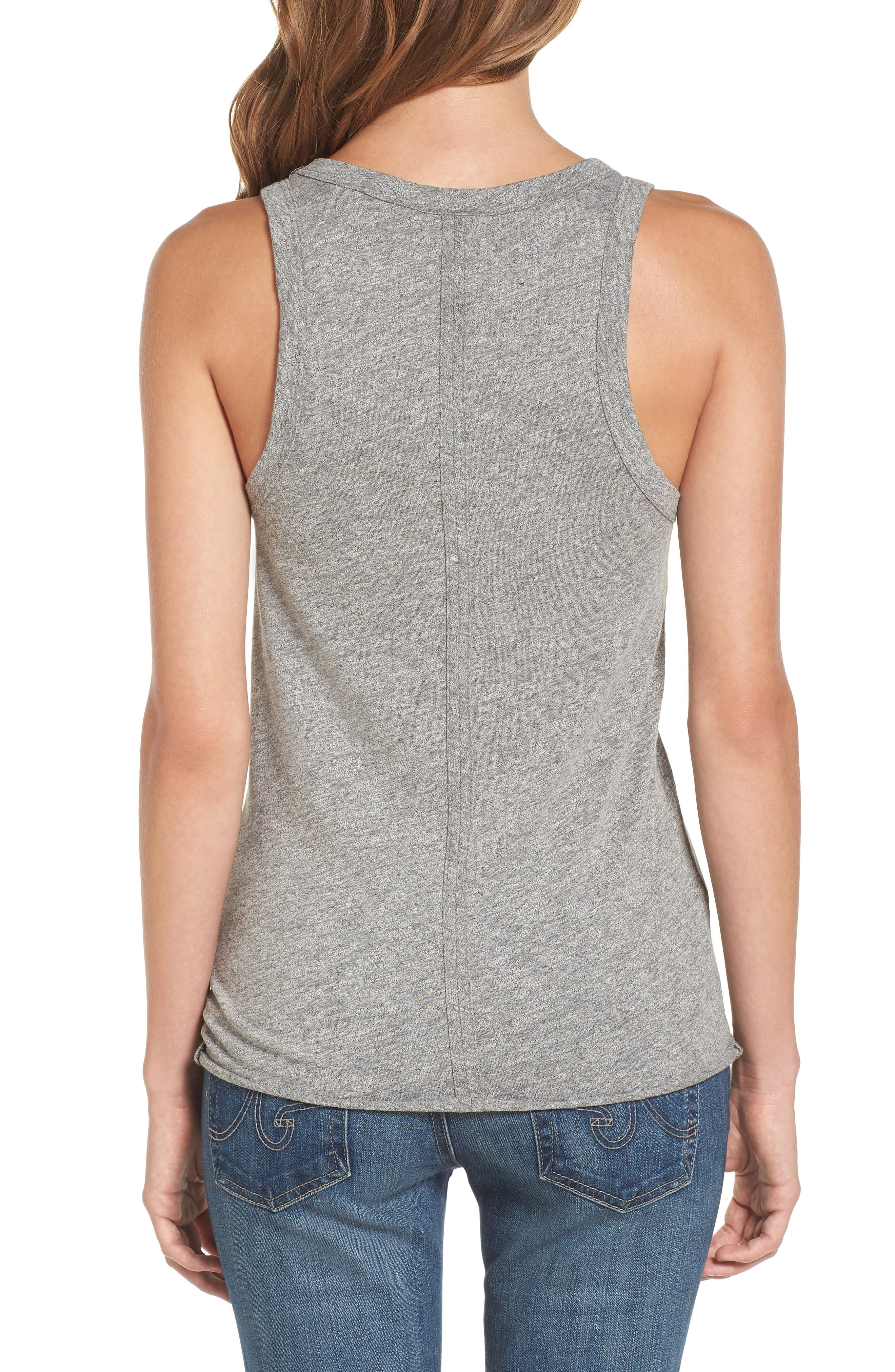 Lexi Tank,                             Alternate thumbnail 2, color,                             SPECKLED HEATHER GREY