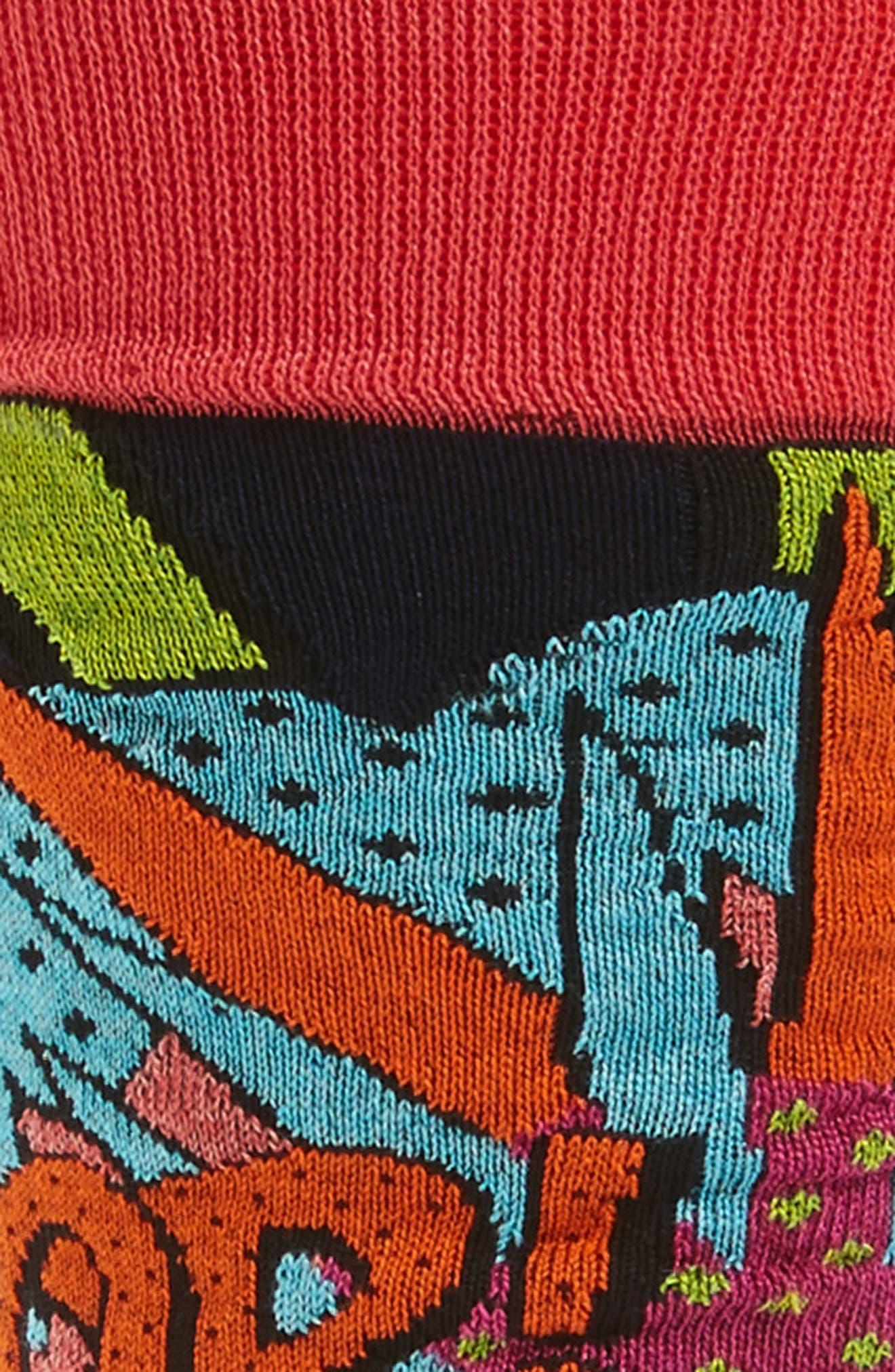 Pop Crew Socks,                             Alternate thumbnail 2, color,                             408