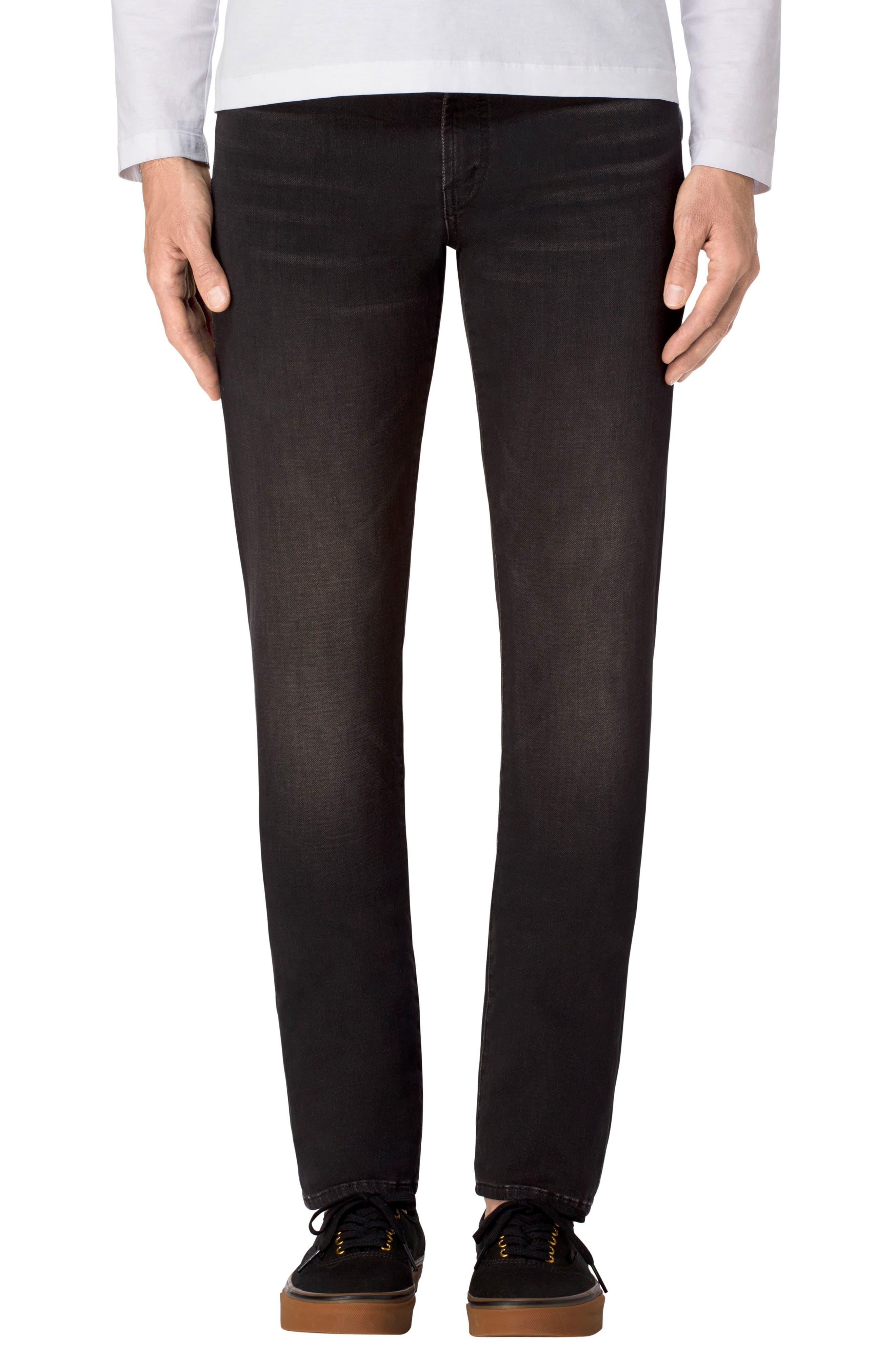 Tyler Slim Fit Jeans,                             Main thumbnail 1, color,                             001