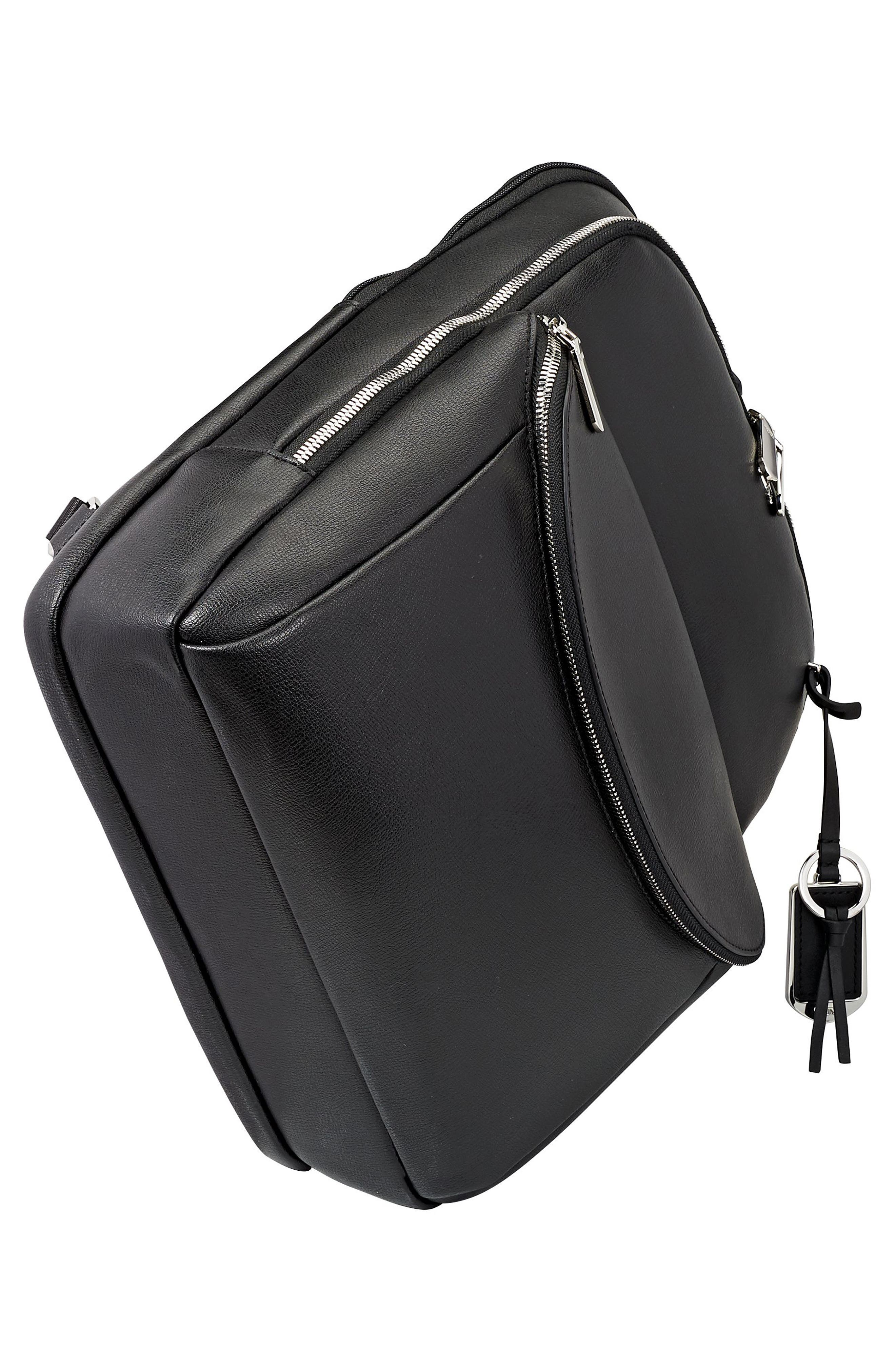 Stanton Hettie Leather Backpack,                             Alternate thumbnail 9, color,
