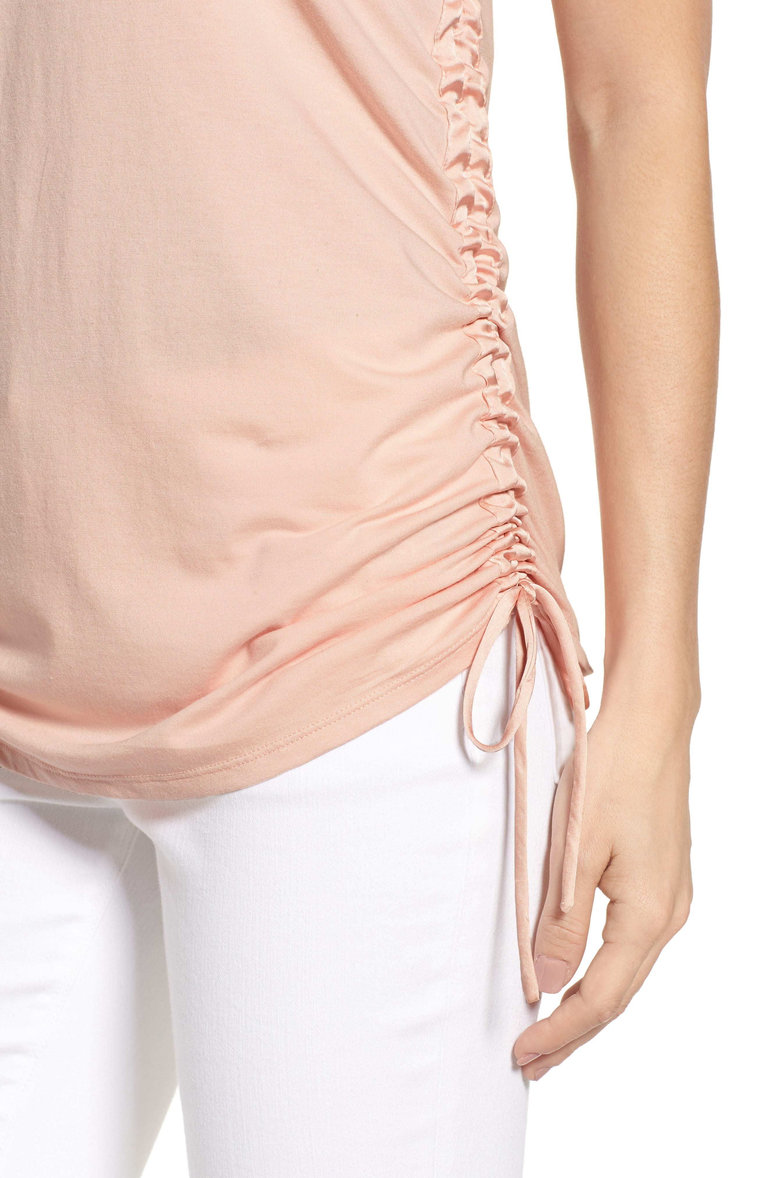 Cinched Drawstring Tank,                             Alternate thumbnail 4, color,                             650