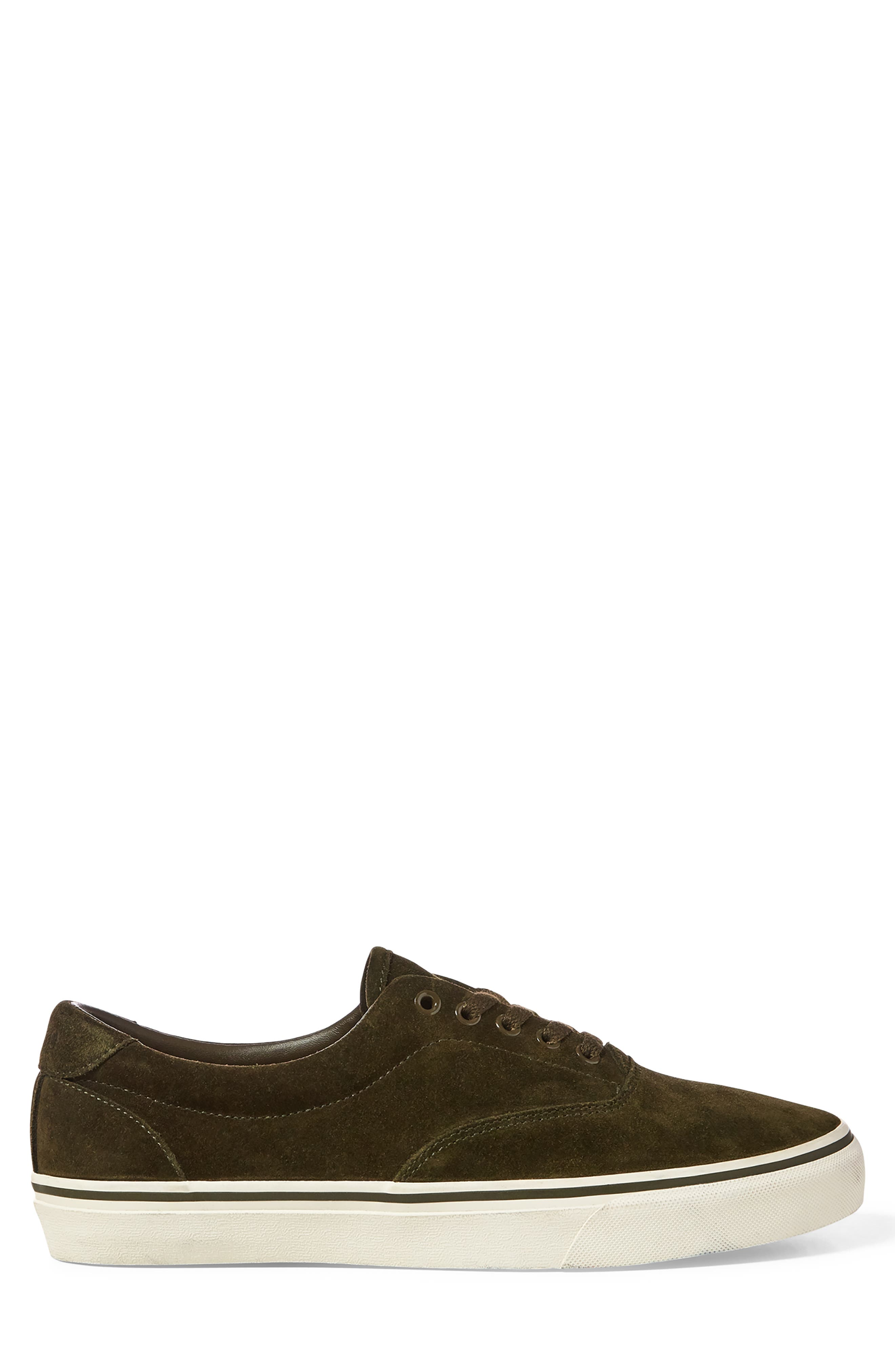 Thorton Sneaker,                             Alternate thumbnail 2, color,                             DEEP OLIVE SUEDE