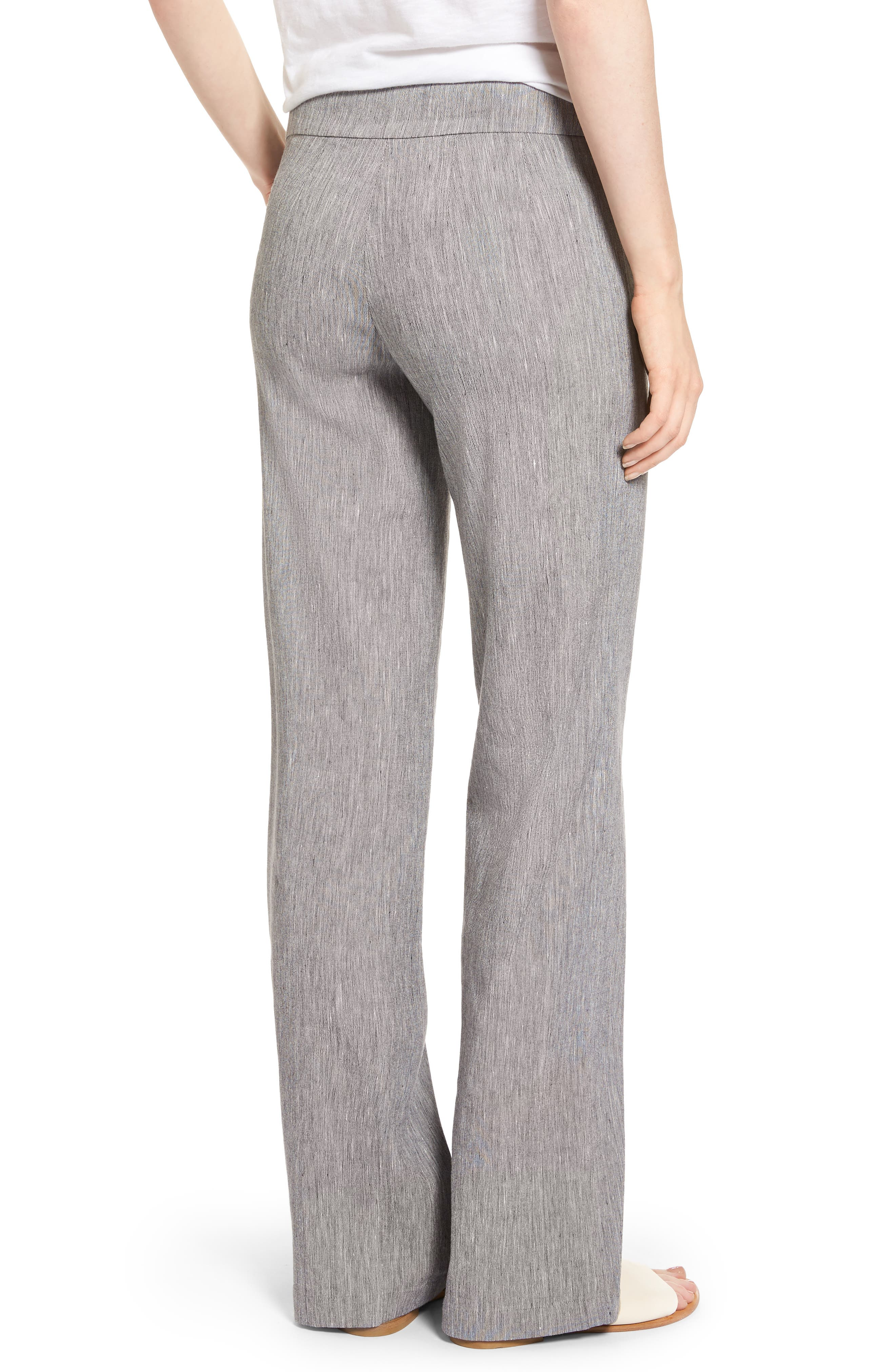 Here or There Linen Blend Pants,                             Alternate thumbnail 2, color,                             099