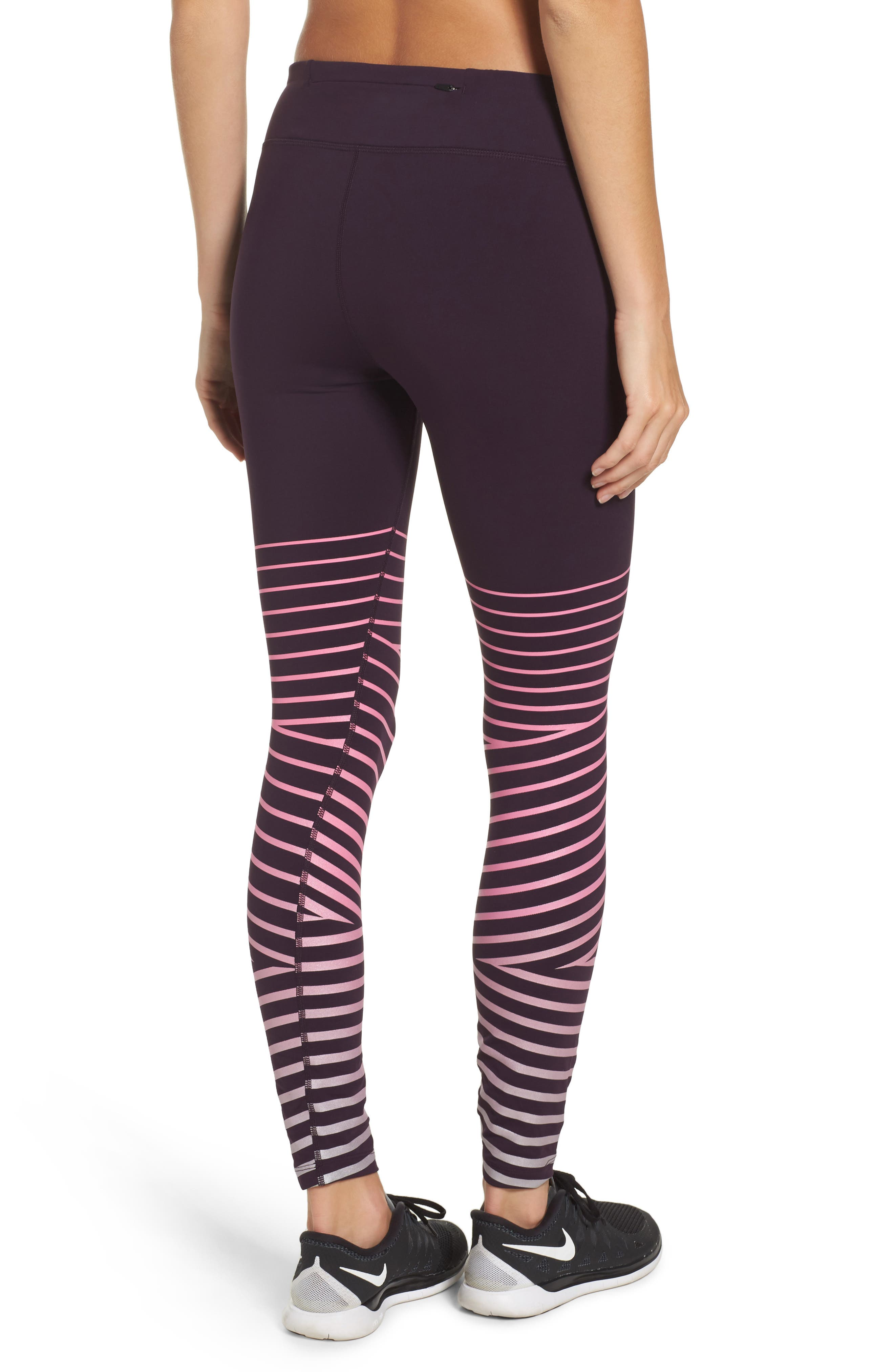 Power Epic Lux Flash Running Tights,                             Alternate thumbnail 8, color,