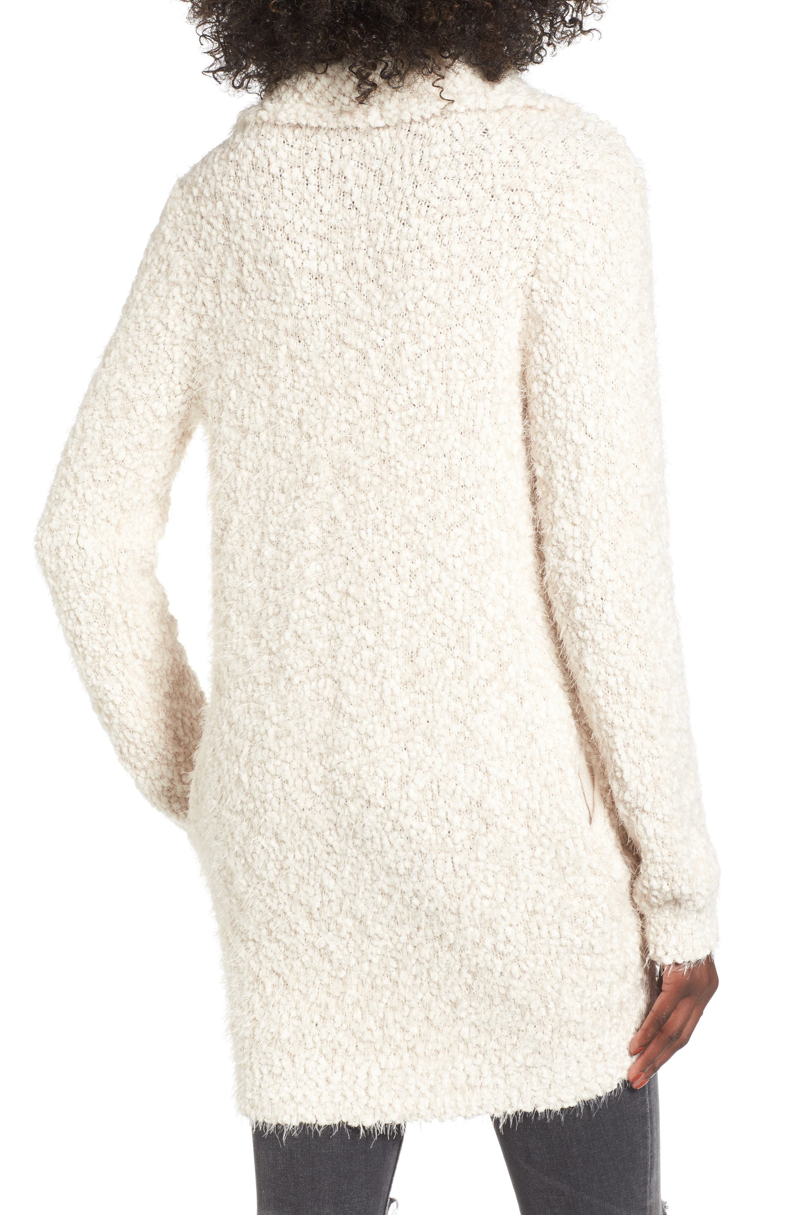 Fluffy Cocoon Cardigan,                             Alternate thumbnail 2, color,