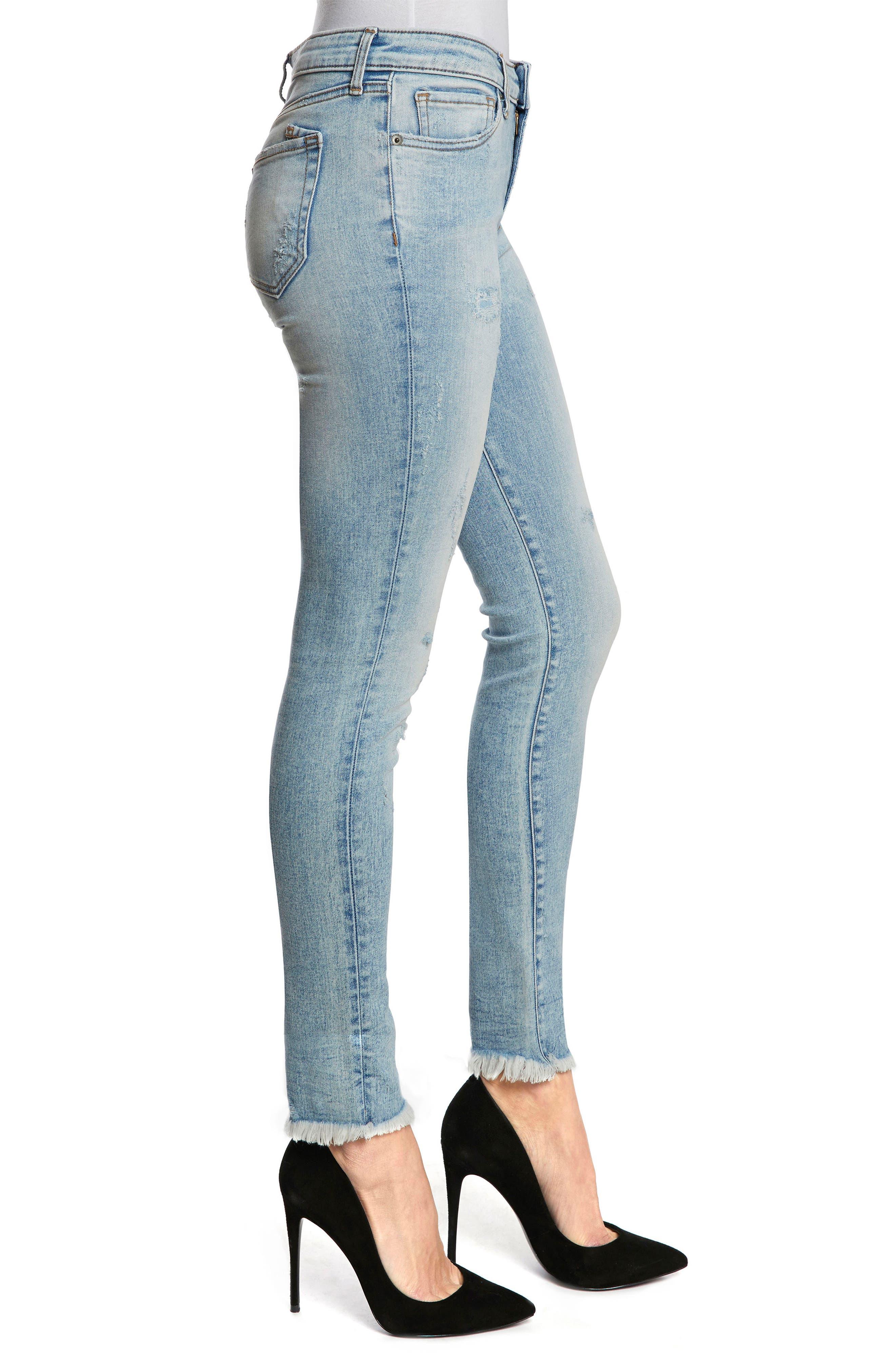 PRPS,                             Camaro Ankle Skinny Jeans,                             Alternate thumbnail 3, color,                             490