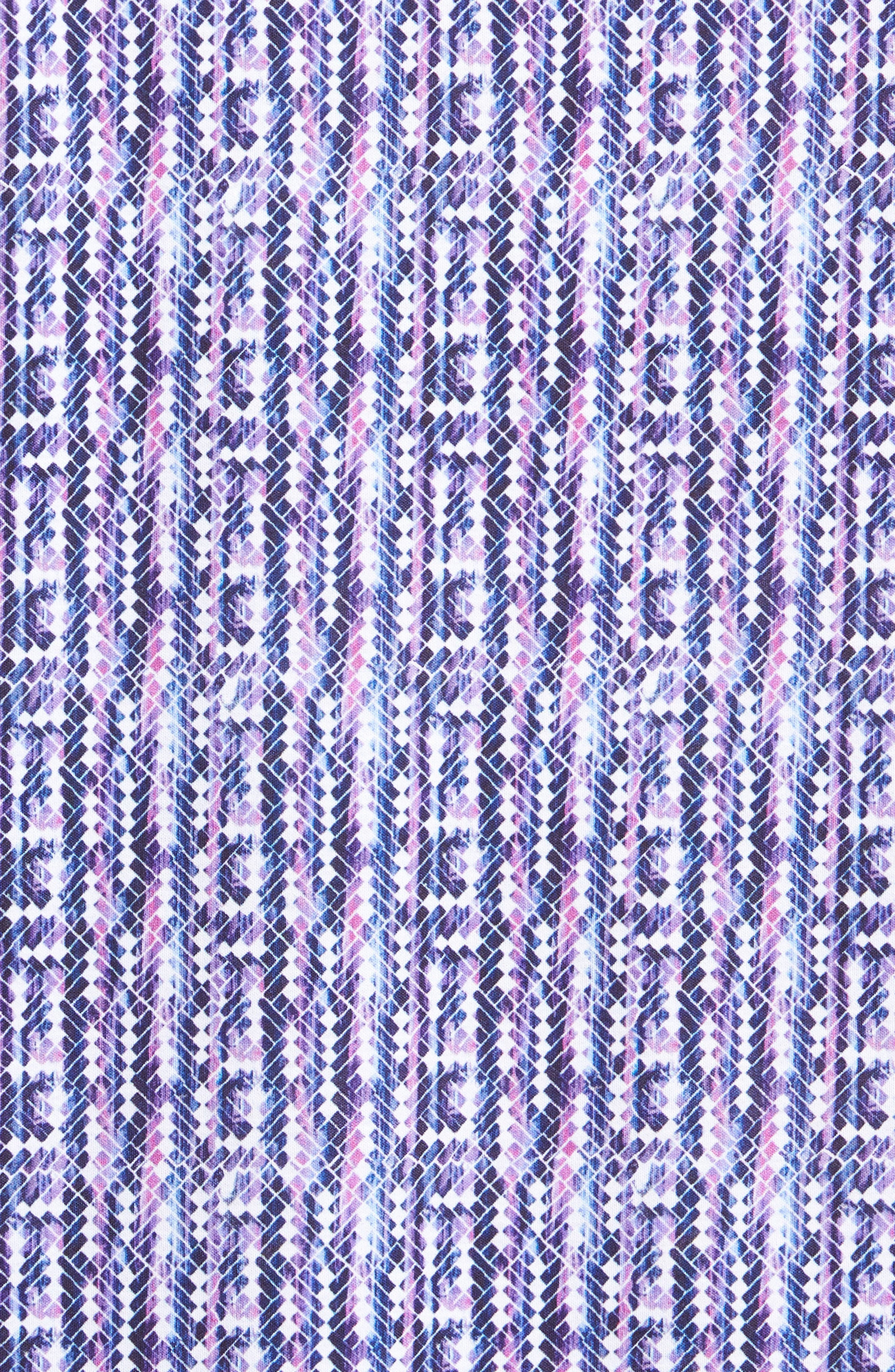 Classic Fit Print Polo,                             Alternate thumbnail 5, color,                             513