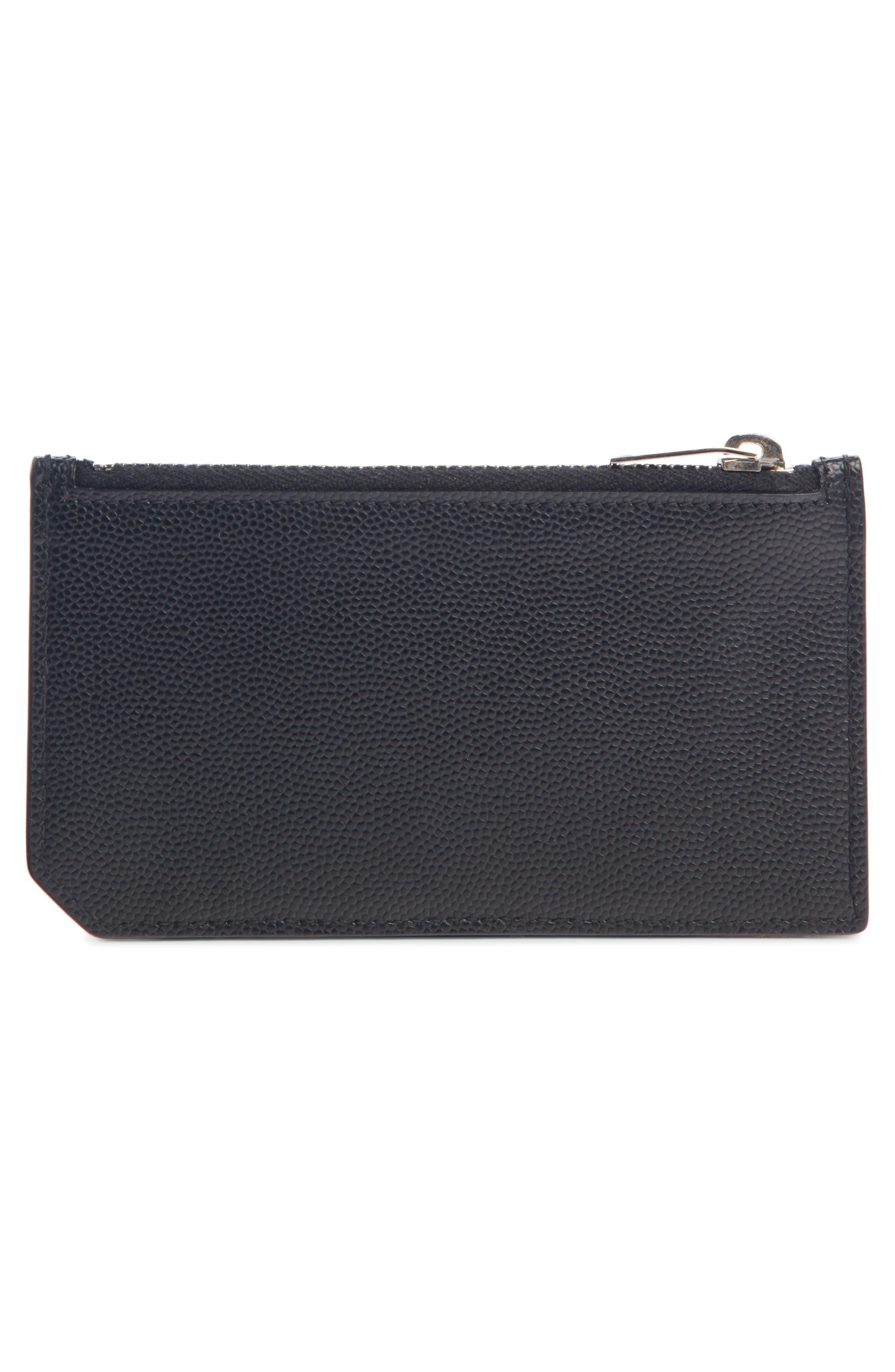 Pebble Grain Leather Zip Wallet,                             Alternate thumbnail 2, color,                             406