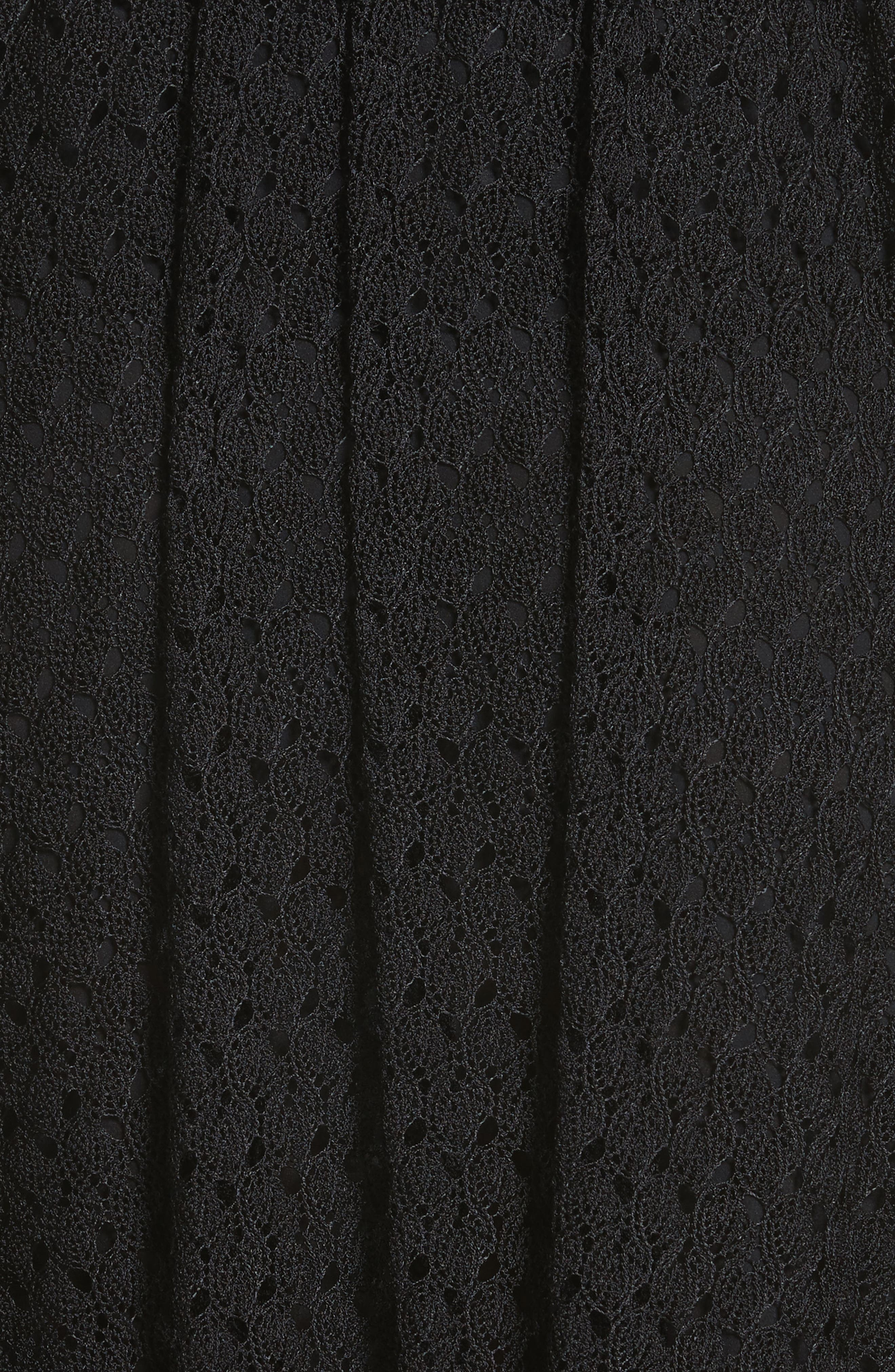 Knit Miniskirt,                             Alternate thumbnail 5, color,